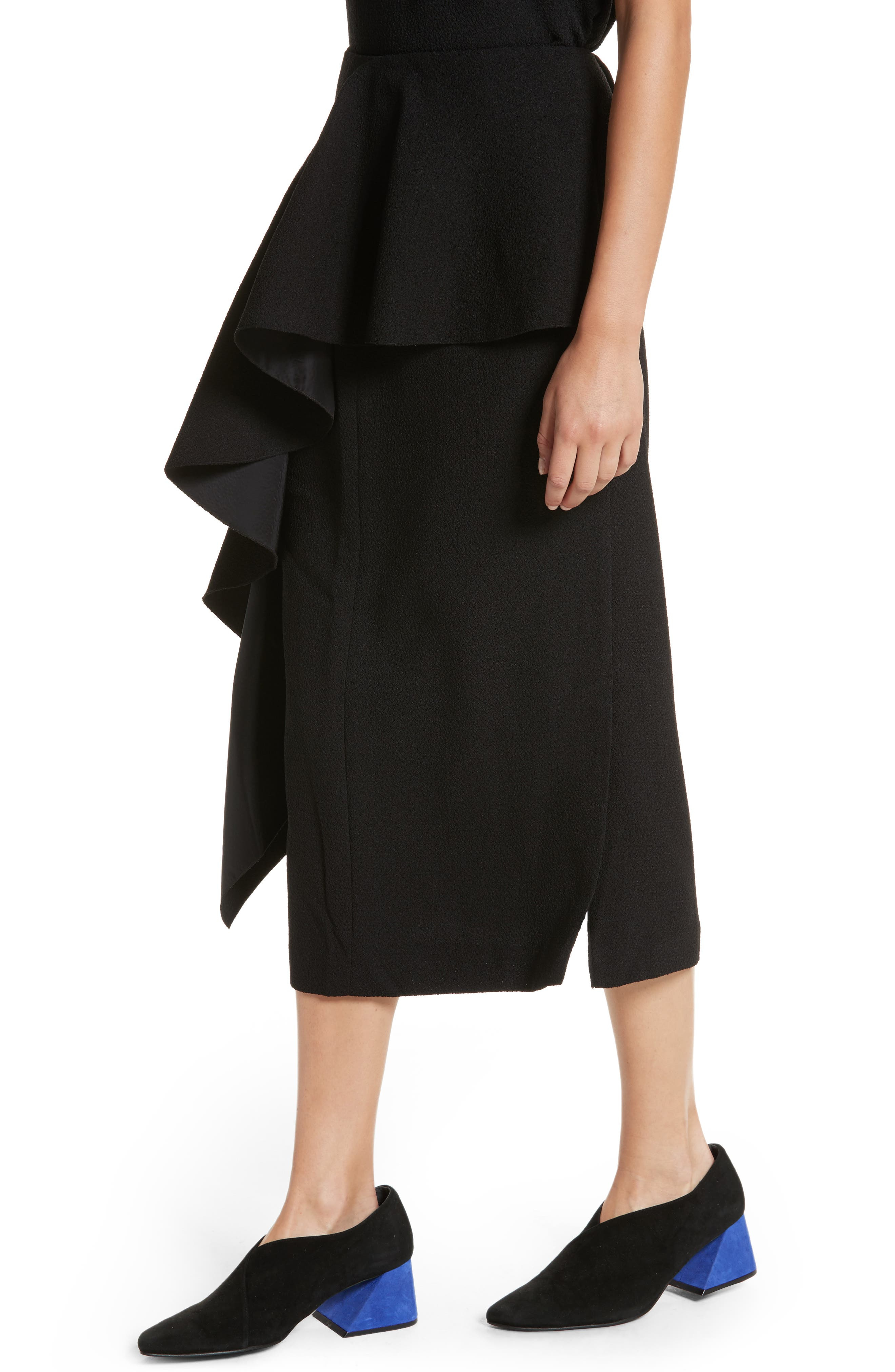 Alternate Image 4  - Rejina Pyo Maude Ruffle Panel Crepe Skirt (Nordstrom Exclusive)