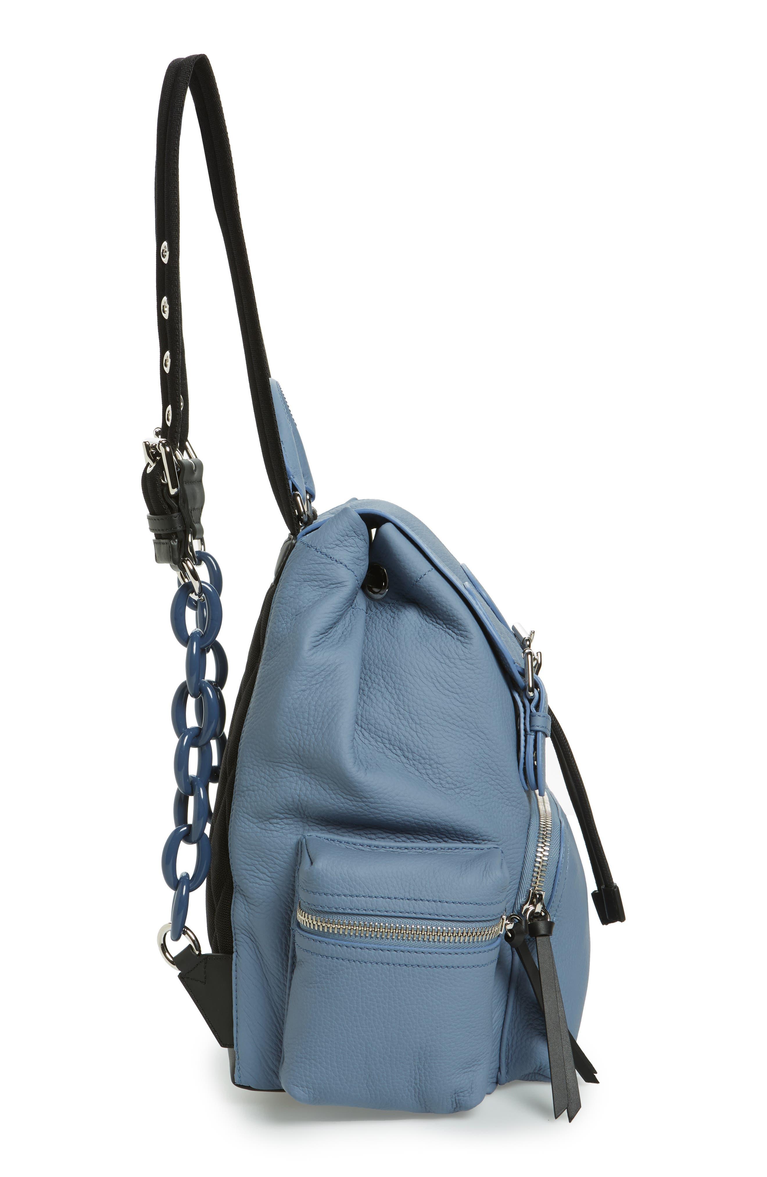 Alternate Image 4  - Burberry Medium Rucksack Deerskin Backpack