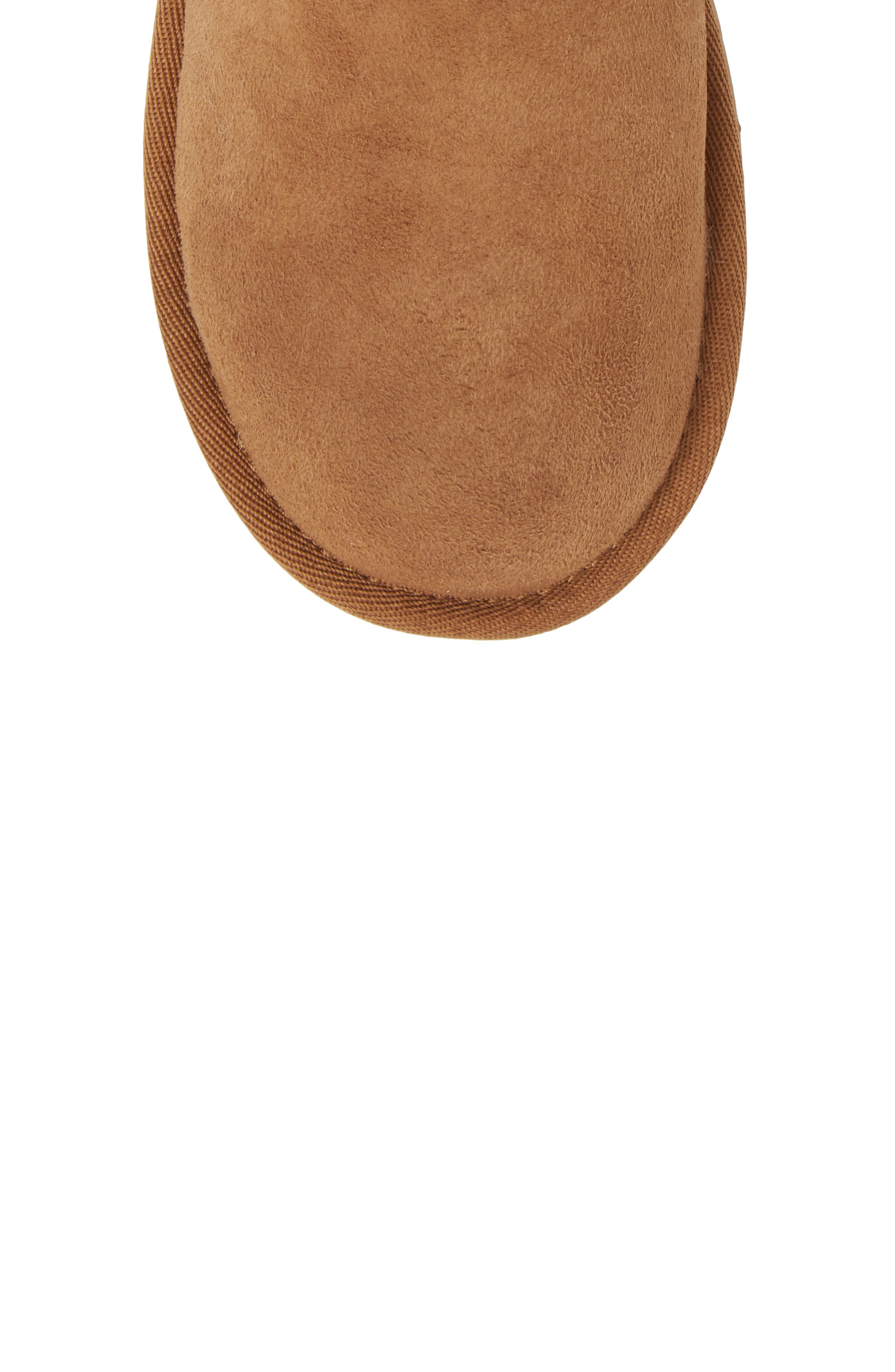Classic II Water Resistant Genuine Shearling Boot,                             Alternate thumbnail 5, color,                             Chestnut Brown