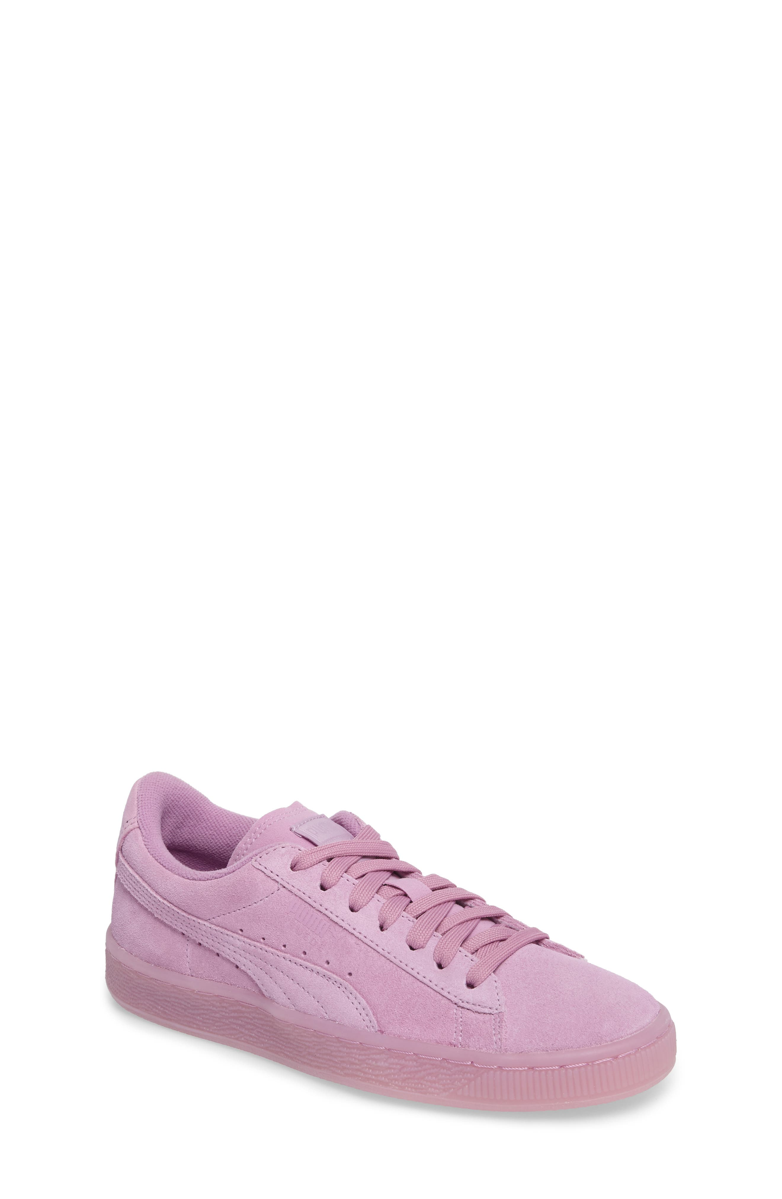 PUMA Iced Suede Sneaker (Big Kid)