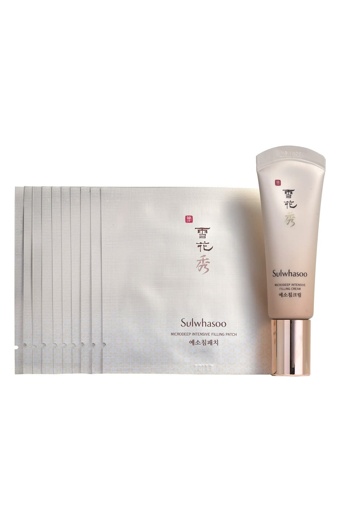 Sulwhasoo Microdeep Intensive Filling Cream & Patch Duo