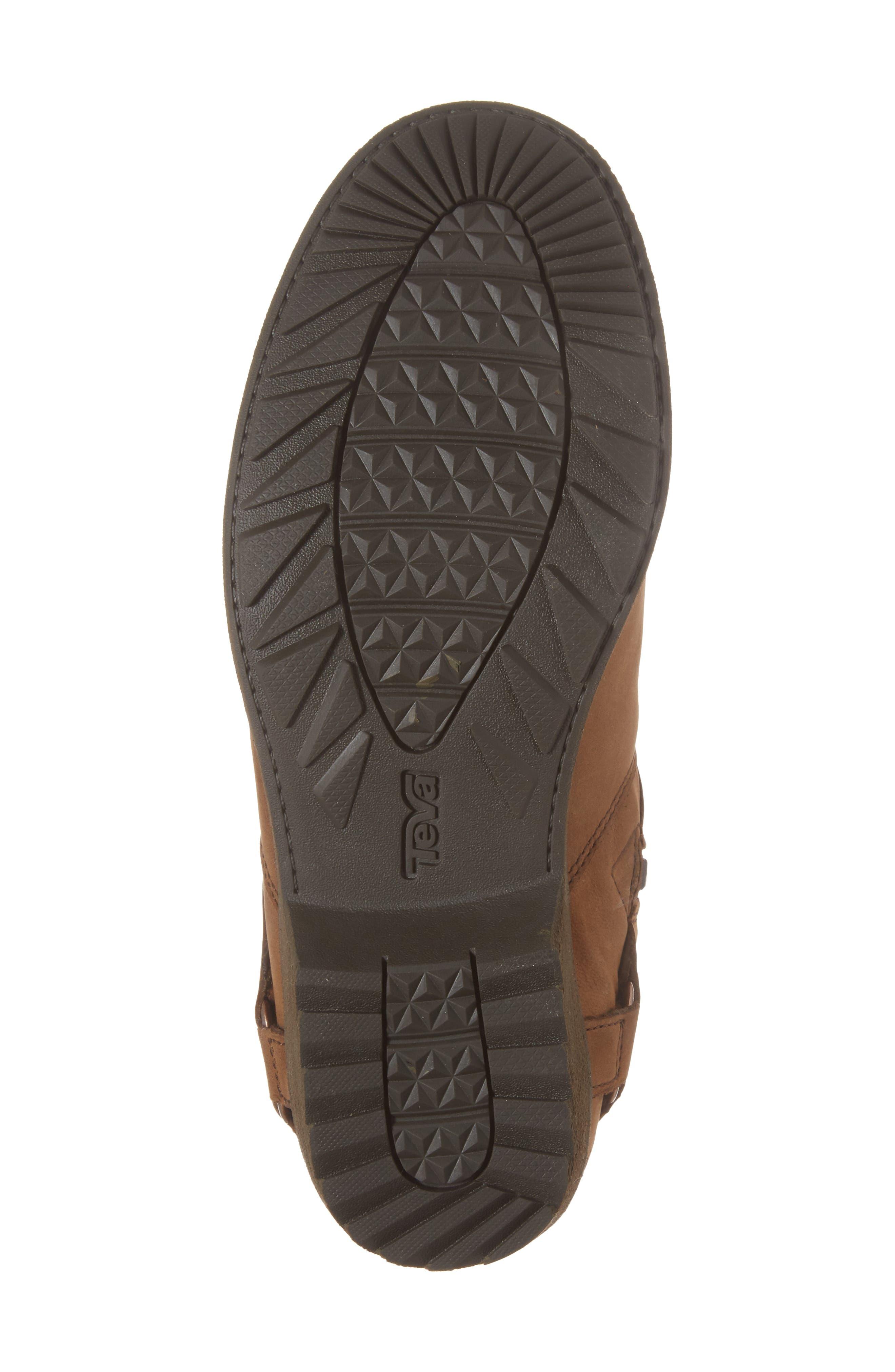 Dina La Vina Dos Waterproof Boot,                             Alternate thumbnail 6, color,                             Bison Leather
