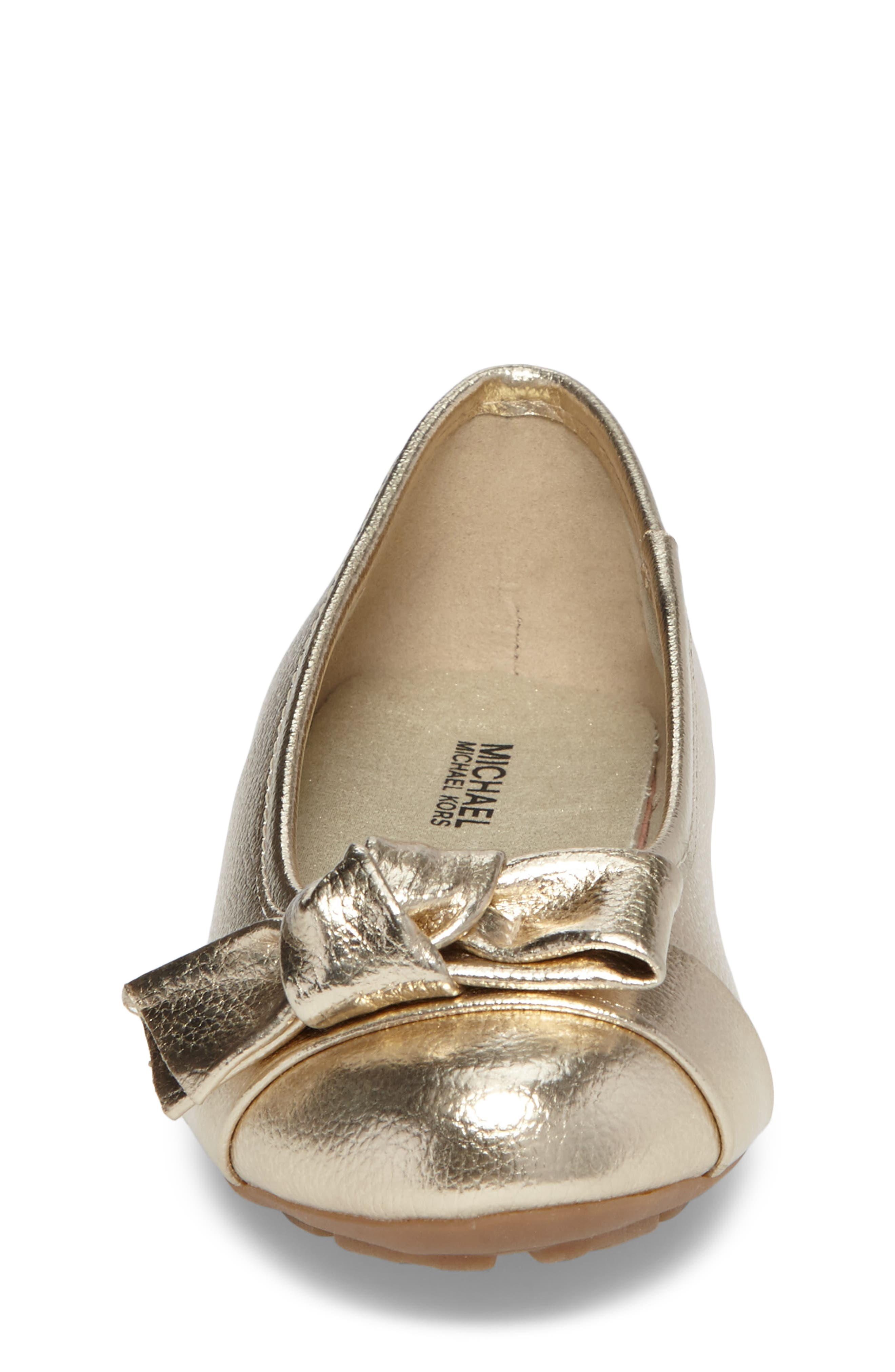 Rover Cora Ballet Flat,                             Alternate thumbnail 4, color,                             Gold