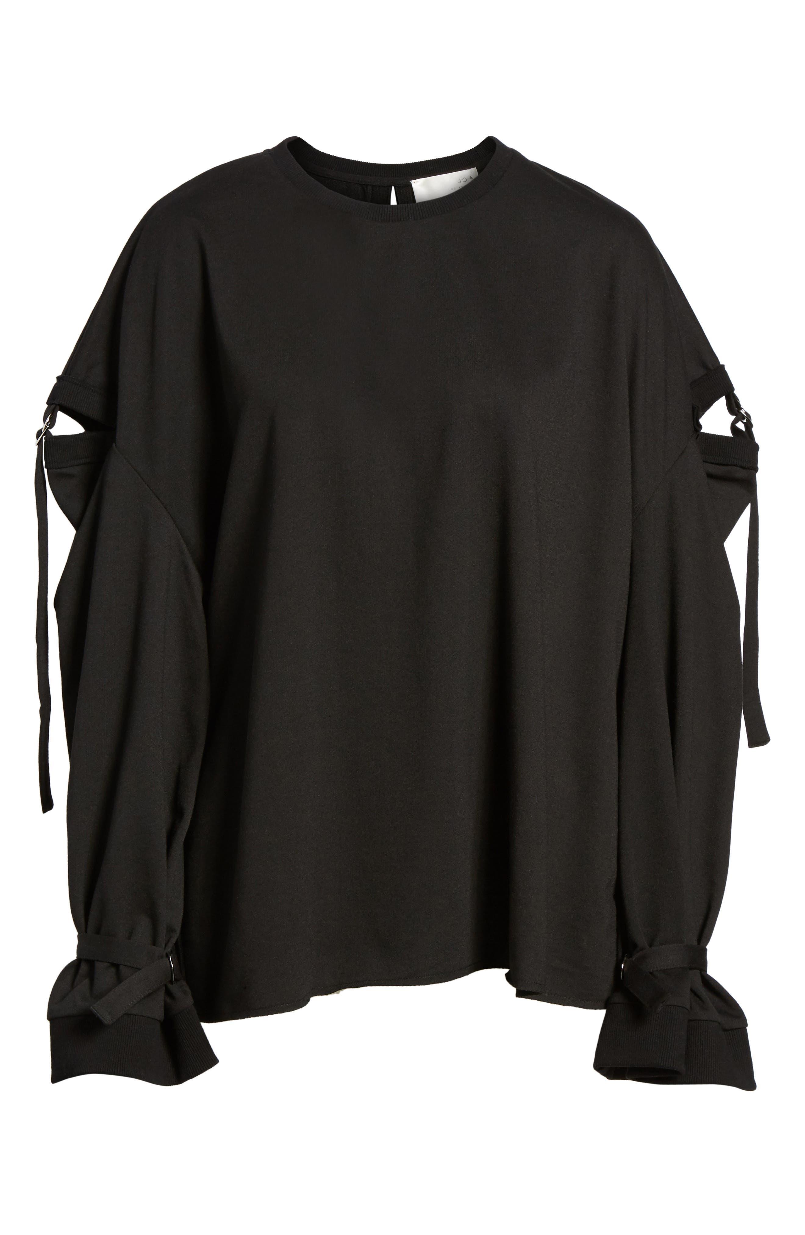 Alternate Image 6  - J.O.A. Cutout Detail Sweatshirt