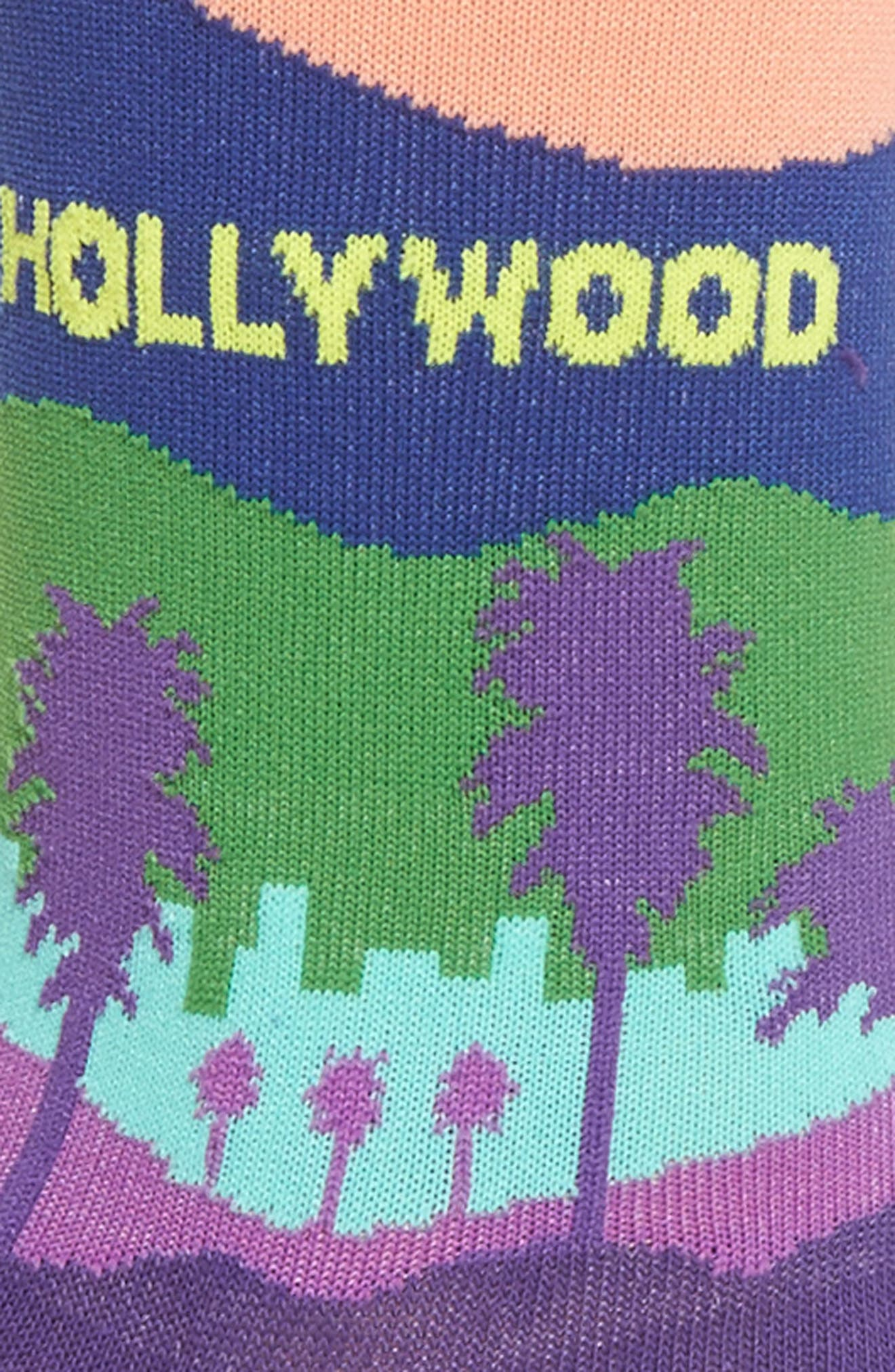 Alternate Image 2  - Hot Sox Hollywood Crew Socks (3 or $15)