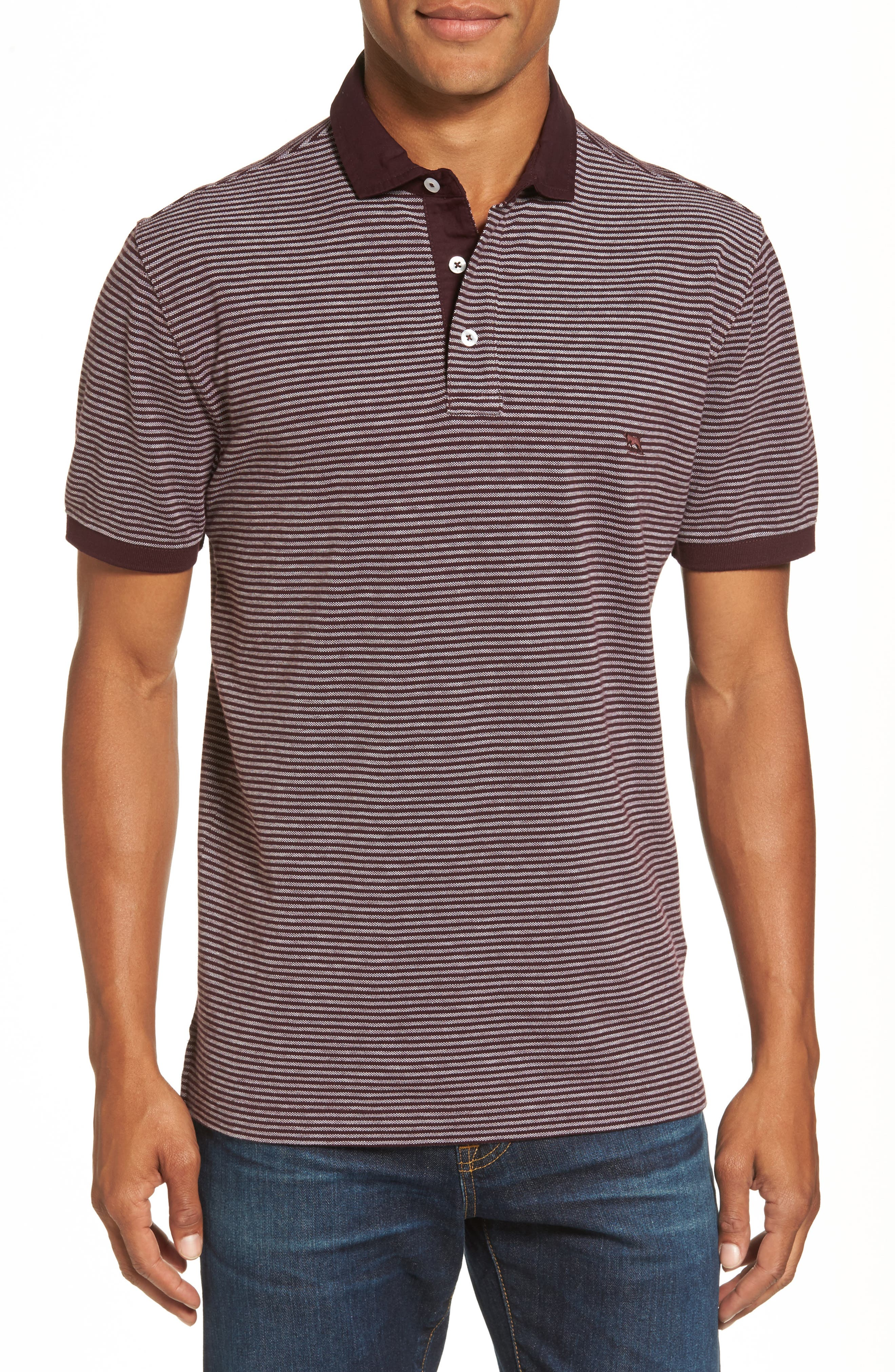 Rodd & Gunn Lendenfield Sports Fit Stripe Piqué Polo