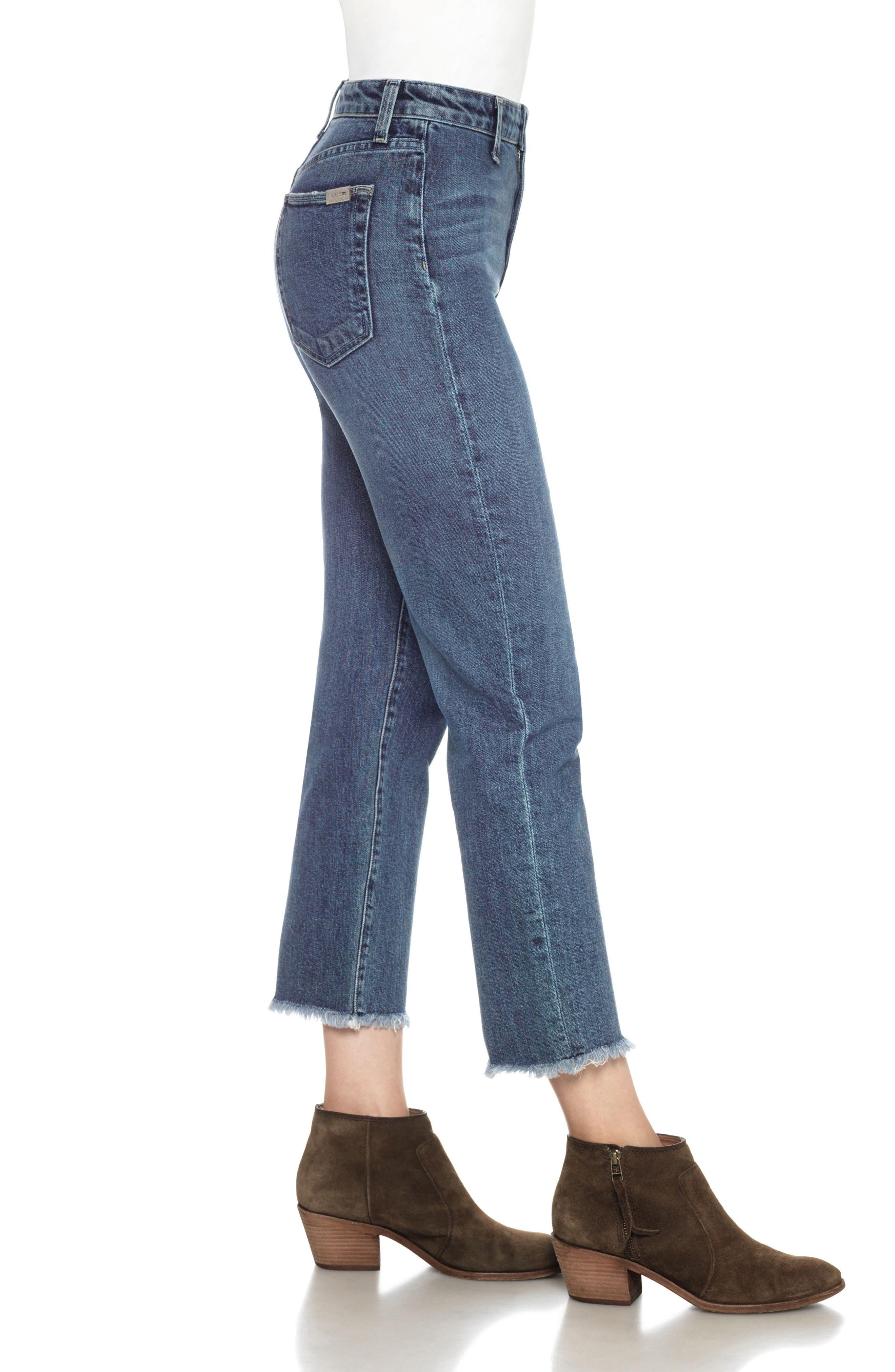 Jane Straight Leg Crop Jeans,                             Alternate thumbnail 2, color,                             Karla