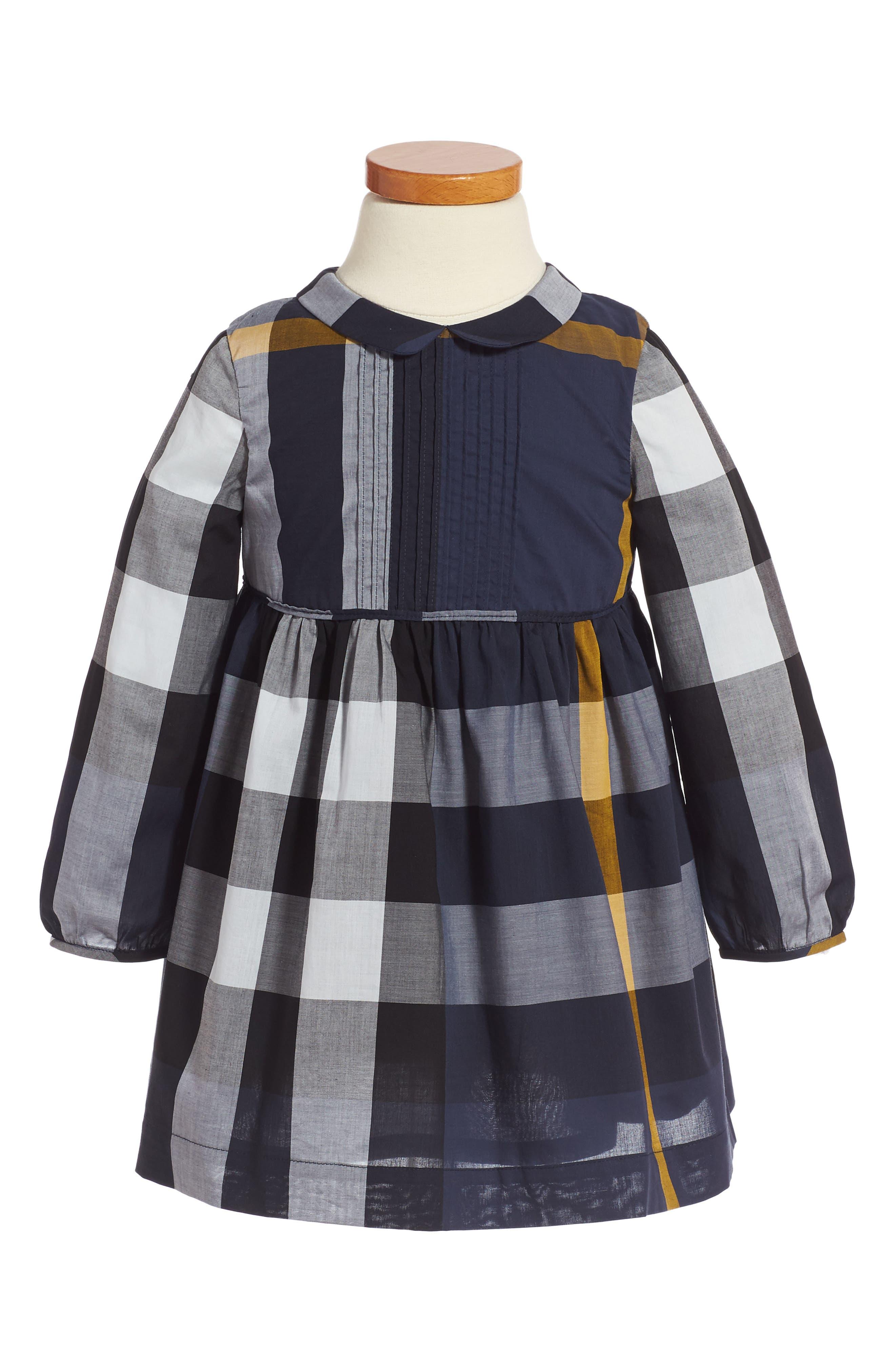 Alternate Image 1 Selected - Burberry Liza Dress (Toddler Girls)