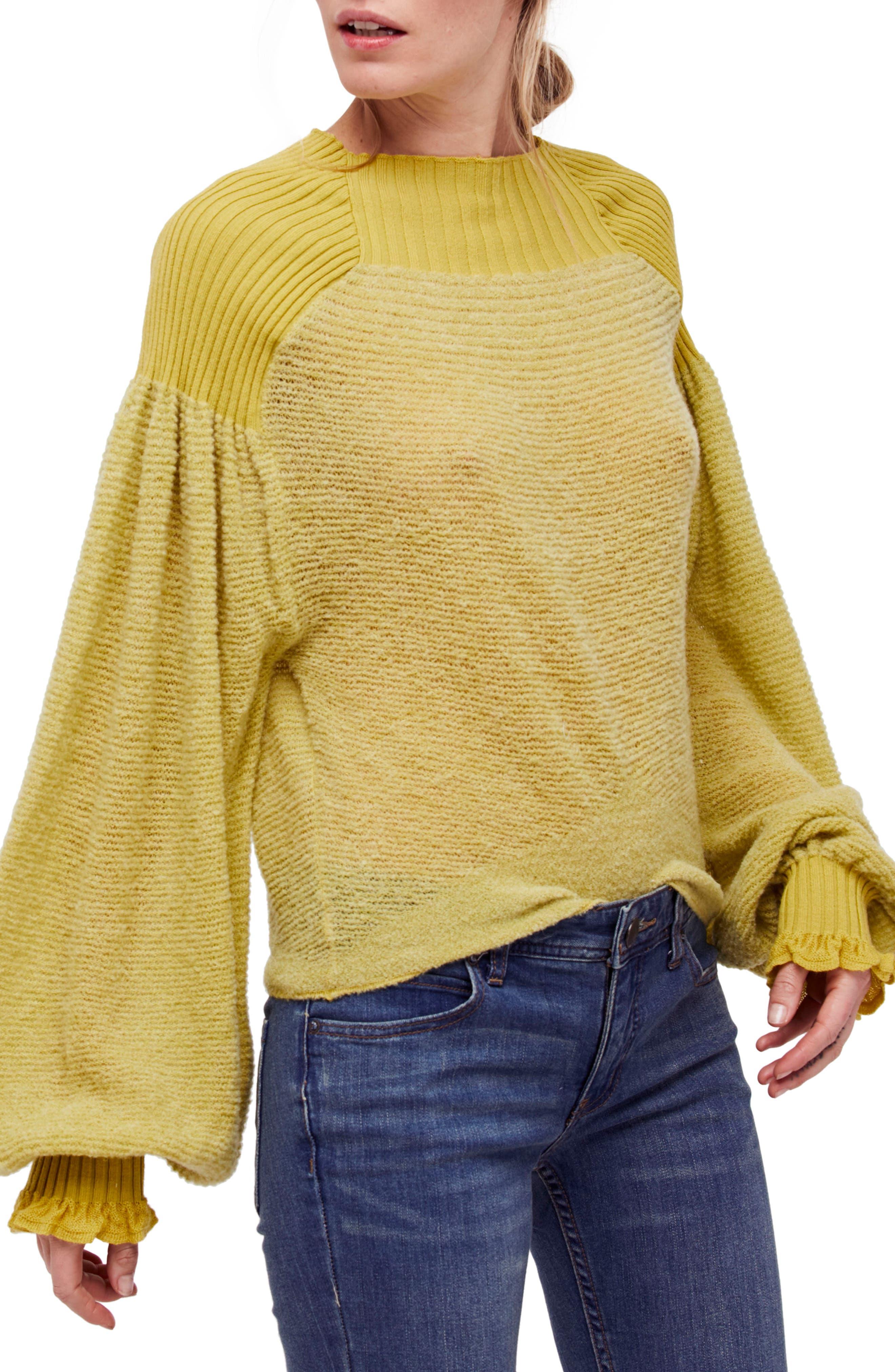 Alternate Image 1 Selected - Free People Elderflower Sweater