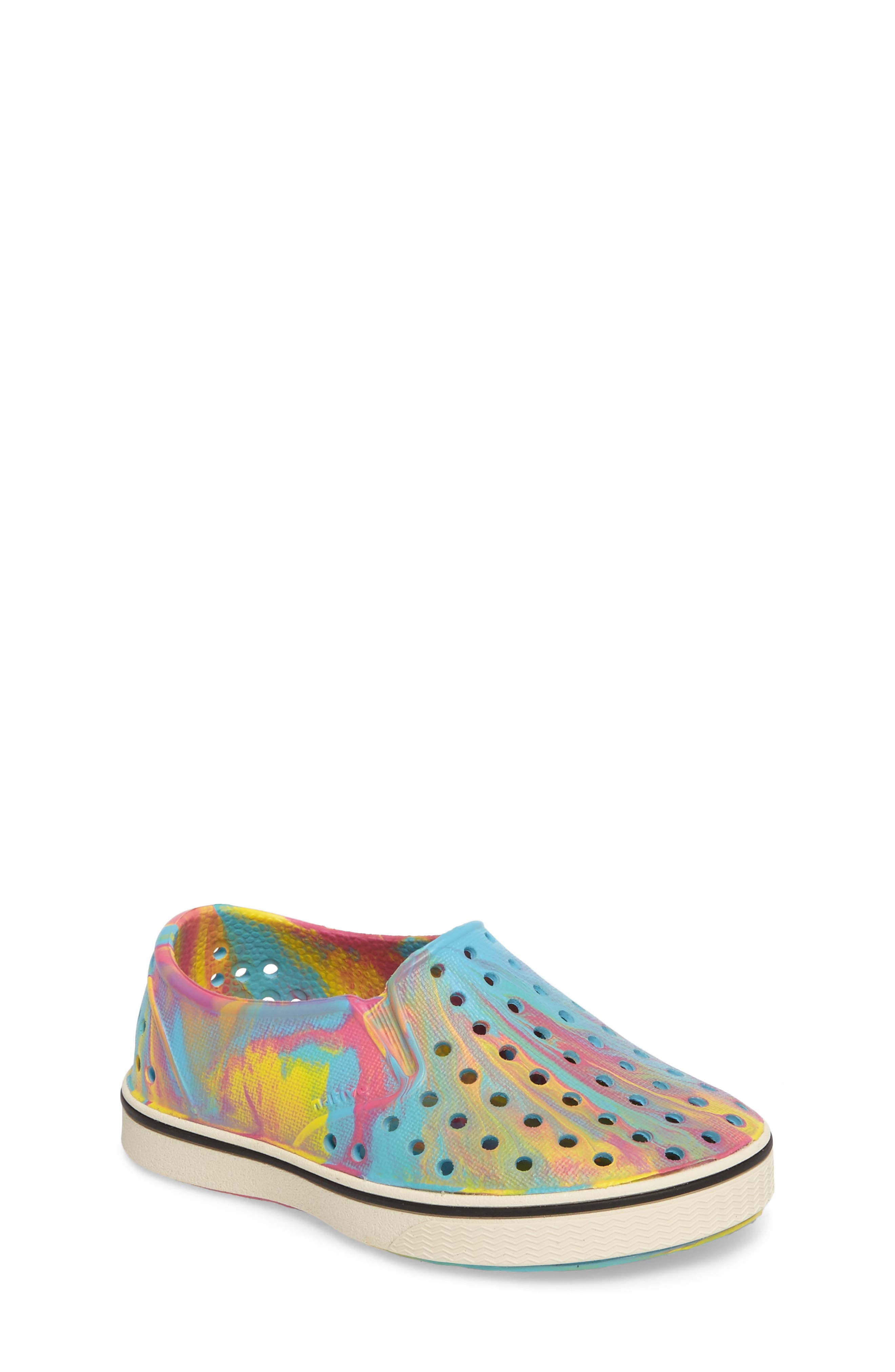 NATIVE SHOES Miles Marbled Slip-On Sneaker