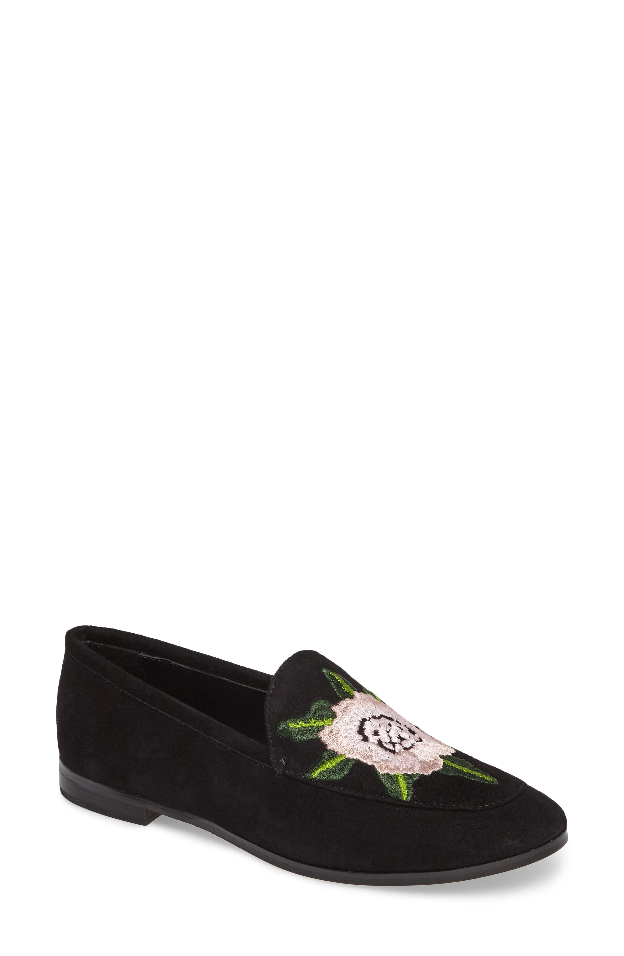 Rebecca Minkoff Dylan Floral Embroidered Loafer (Women)
