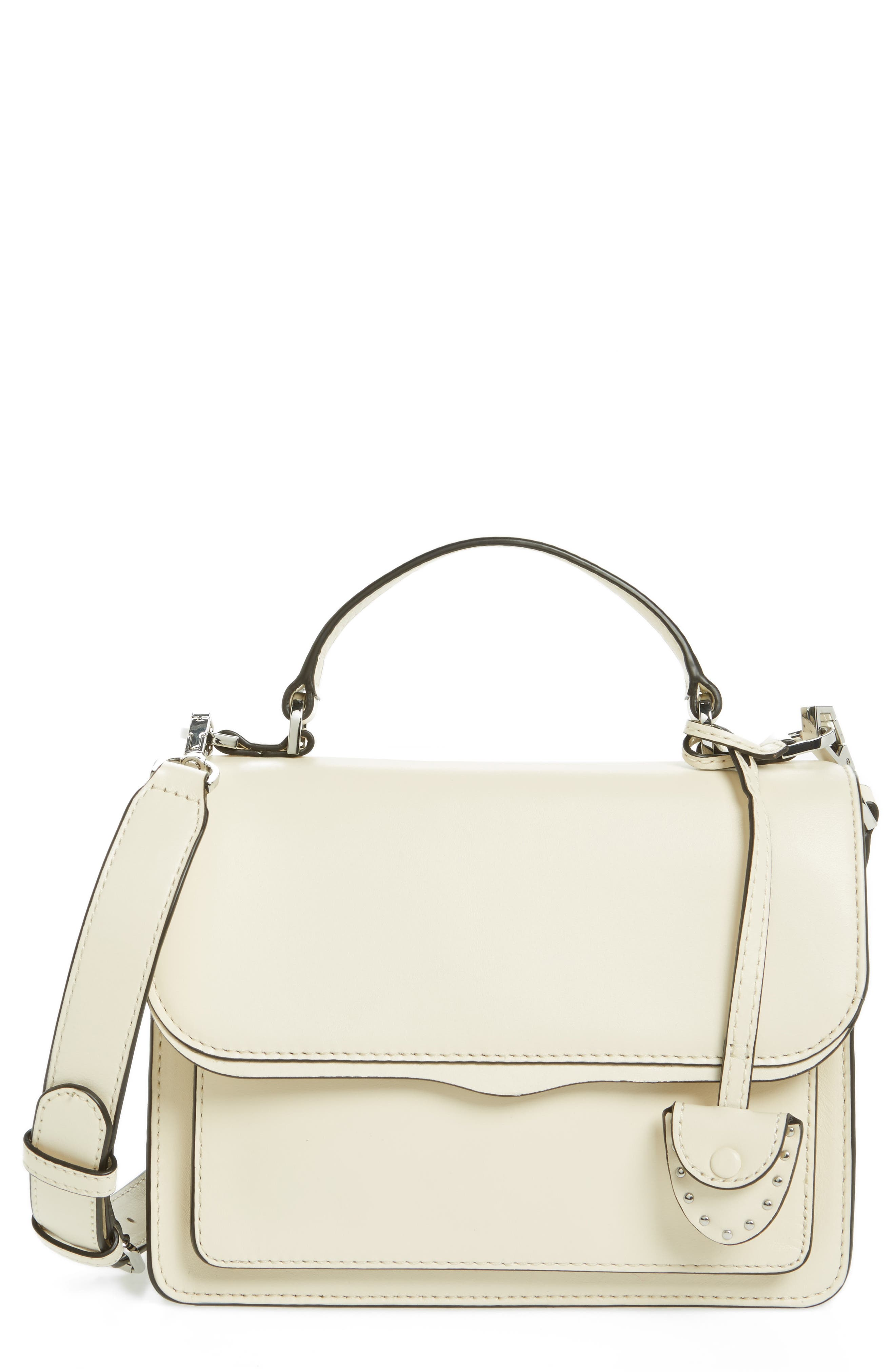 Small Top Handle Crossbody Bag,                             Main thumbnail 1, color,                             Ant Wht Multi