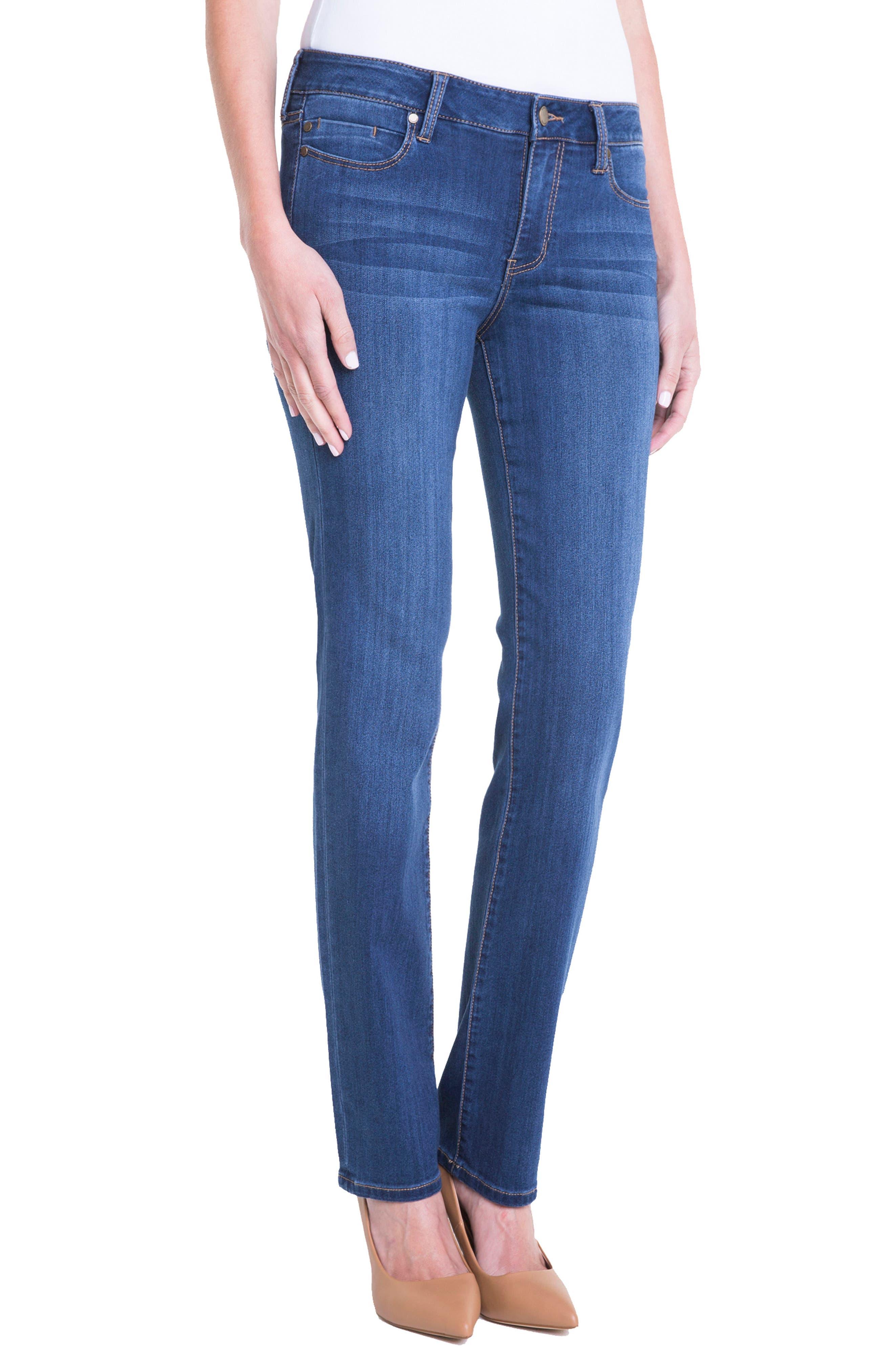 Sadie Straight Leg Jeans,                             Alternate thumbnail 4, color,                             Helms