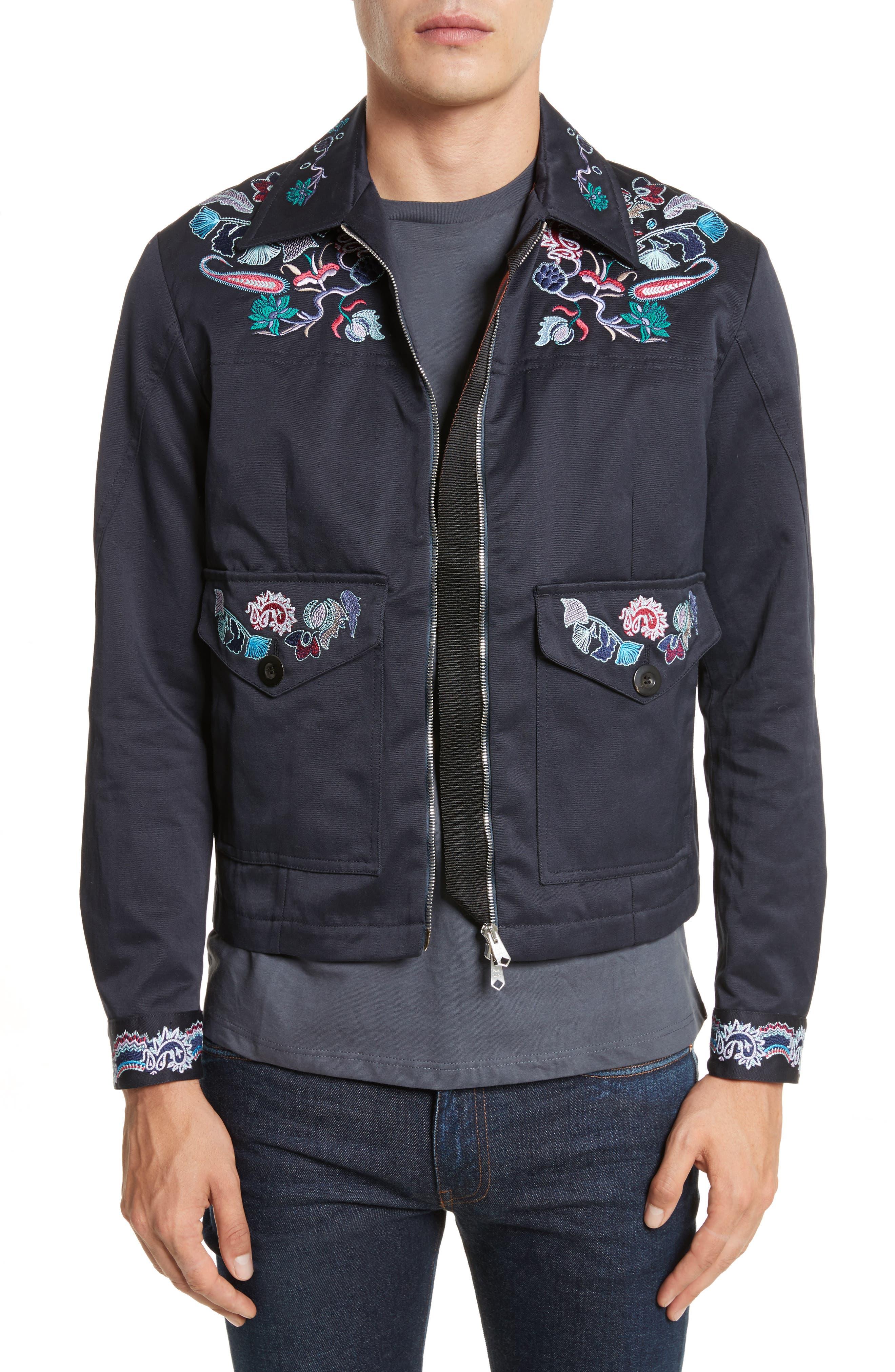 Main Image - Paul Smith Paisley Field Jacket