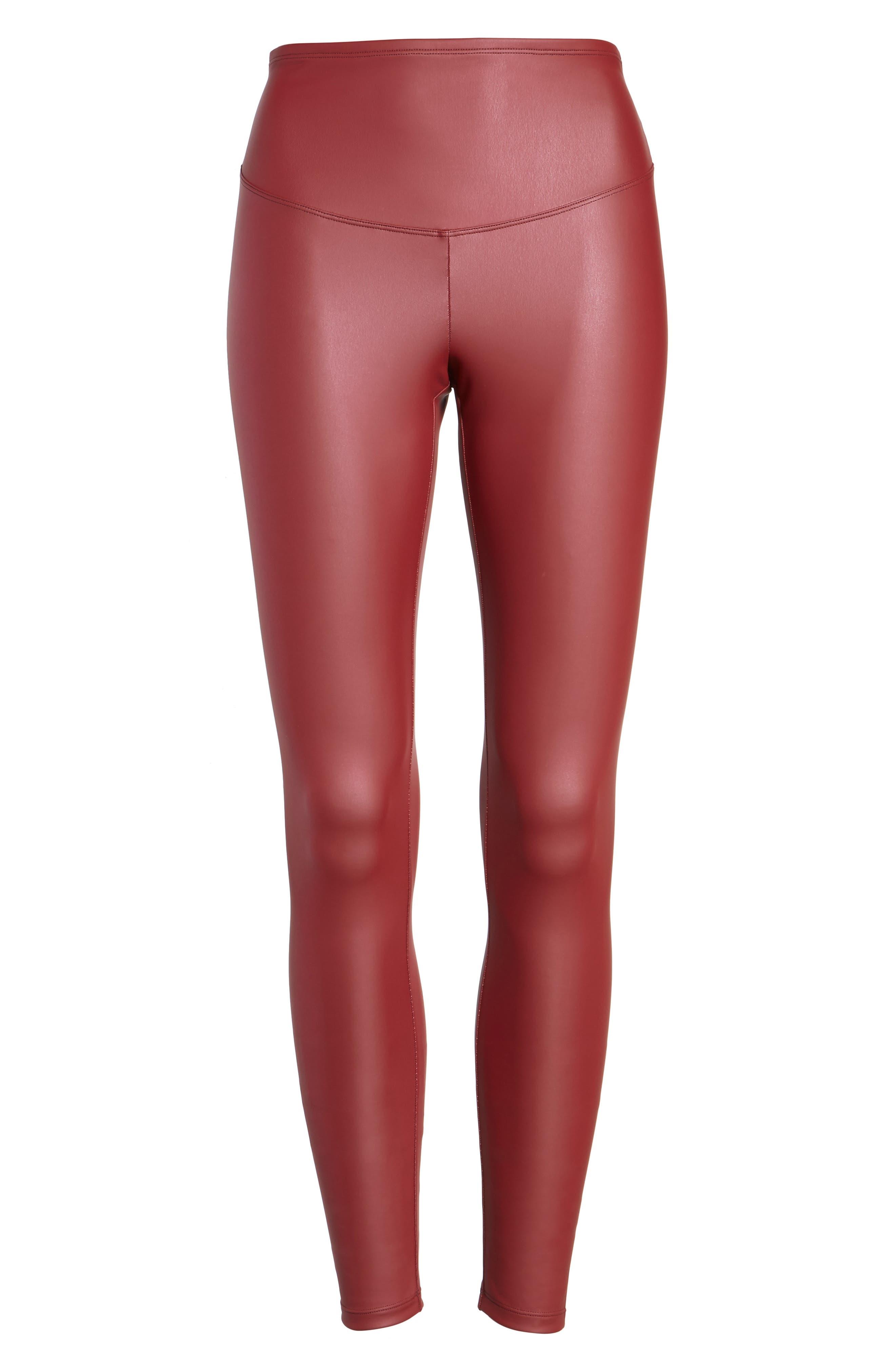 Alternate Image 4  - Yummie Tony Faux Leather Leggings