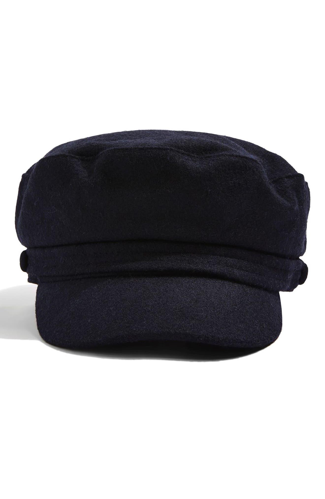 Alternate Image 2  - Topshop Baker Boy Cap