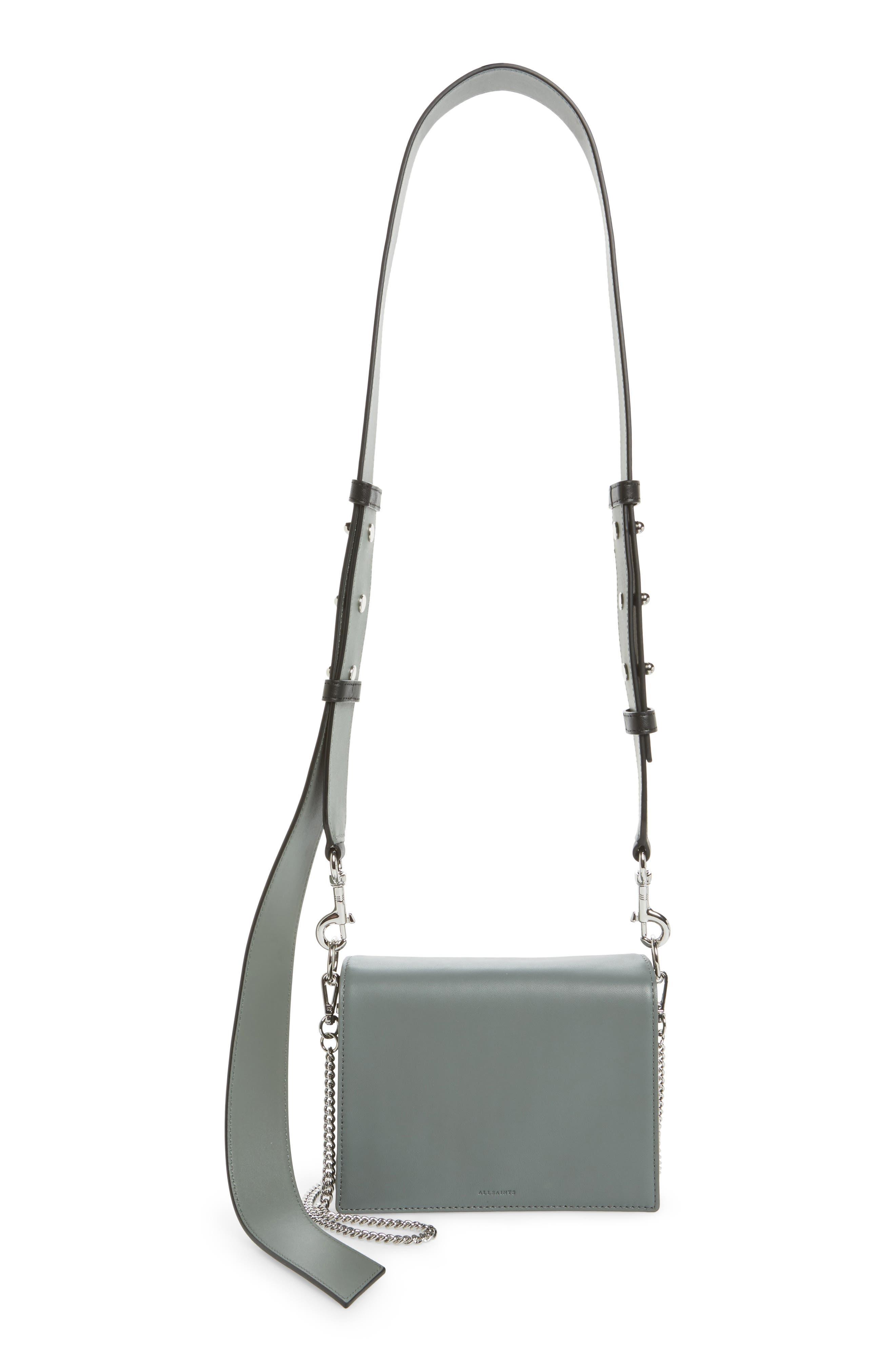 ALLSAINTS Zep Lambskin Leather Shoulder Bag