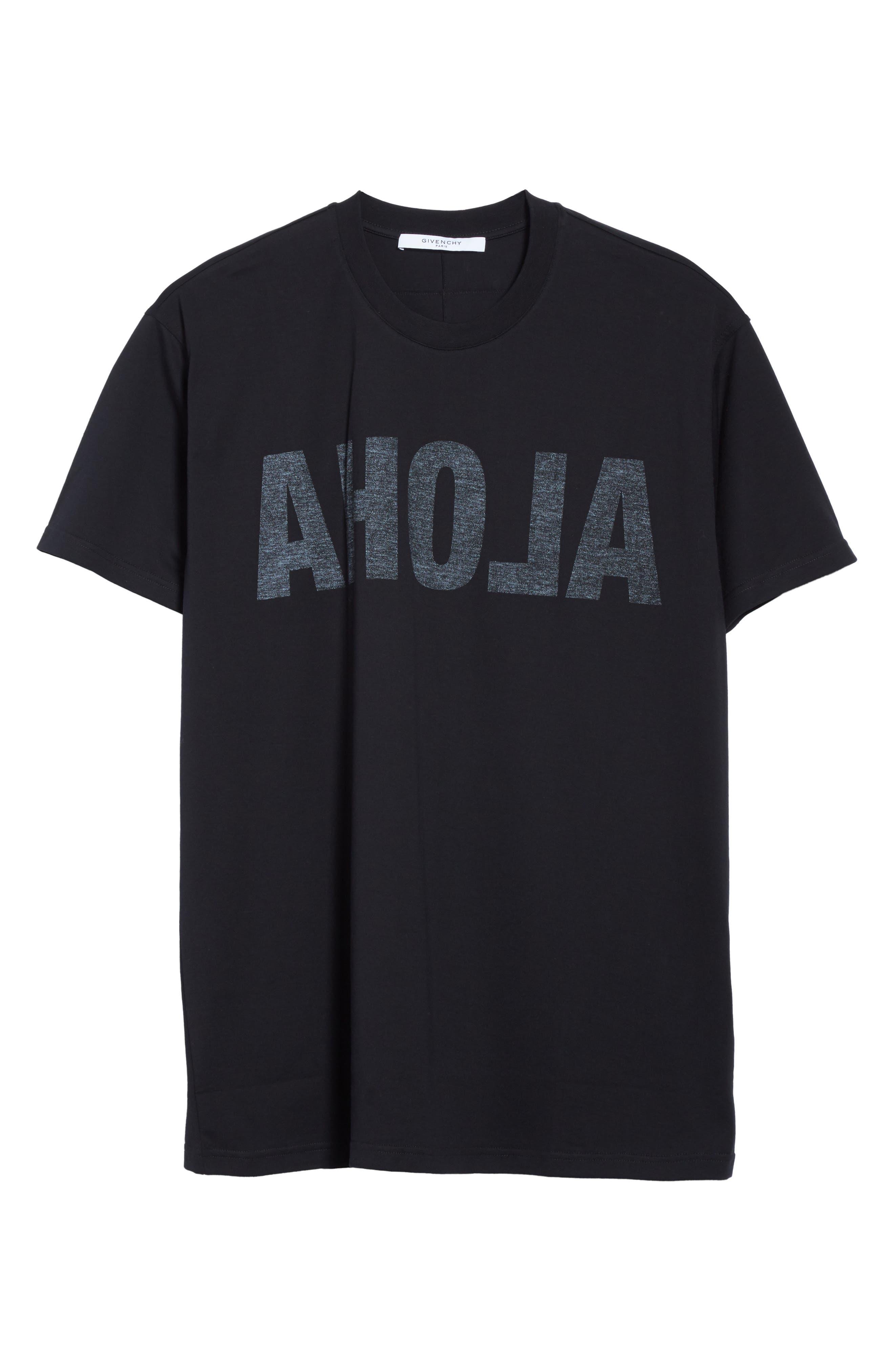 Alternate Image 6  - Givenchy Columbian Fit Aloha Graphic T-Shirt