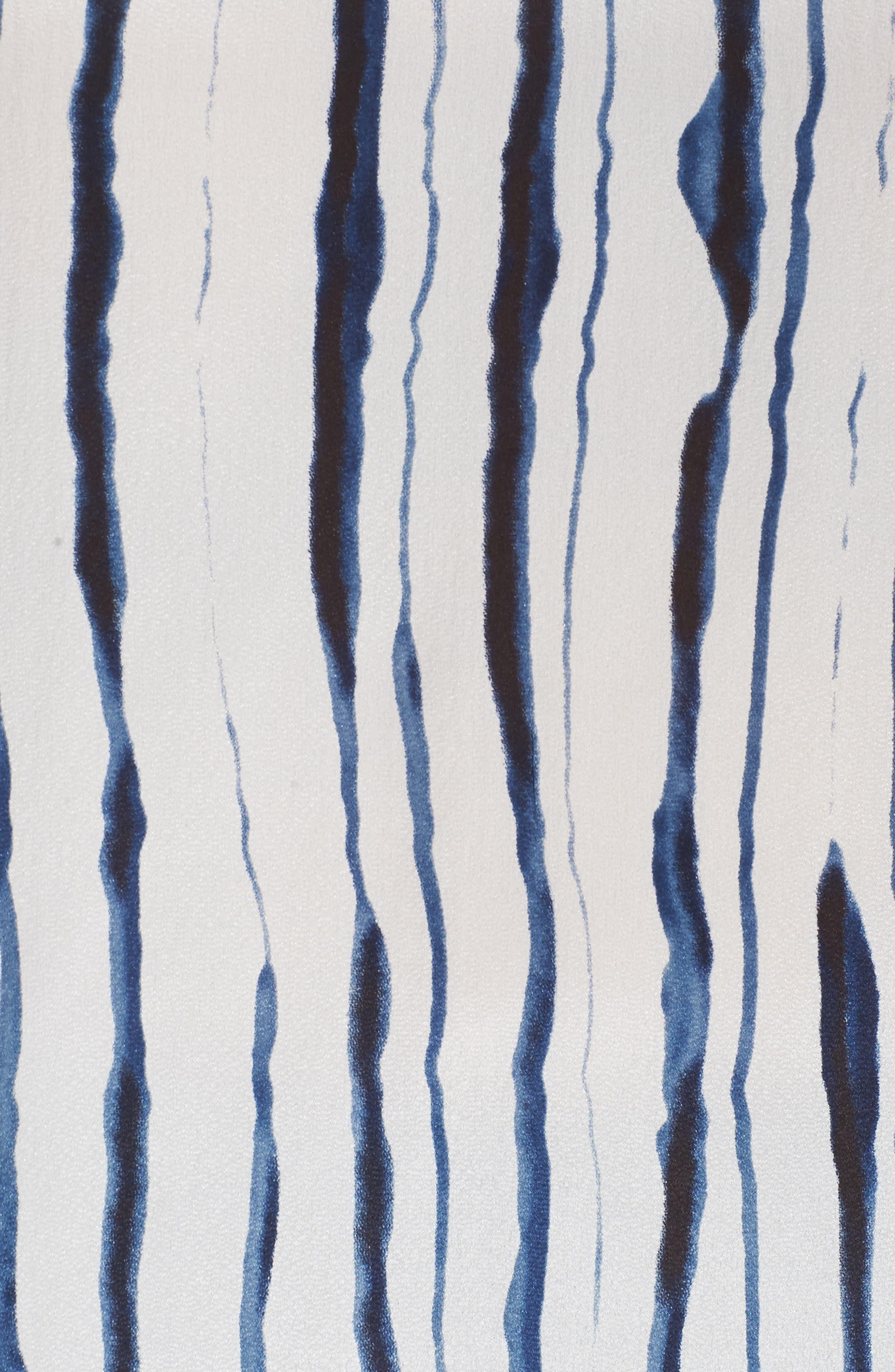 Alternate Image 5  - NIC+ZOE Fluid Ink Silk Blend Tee (Plus Size)