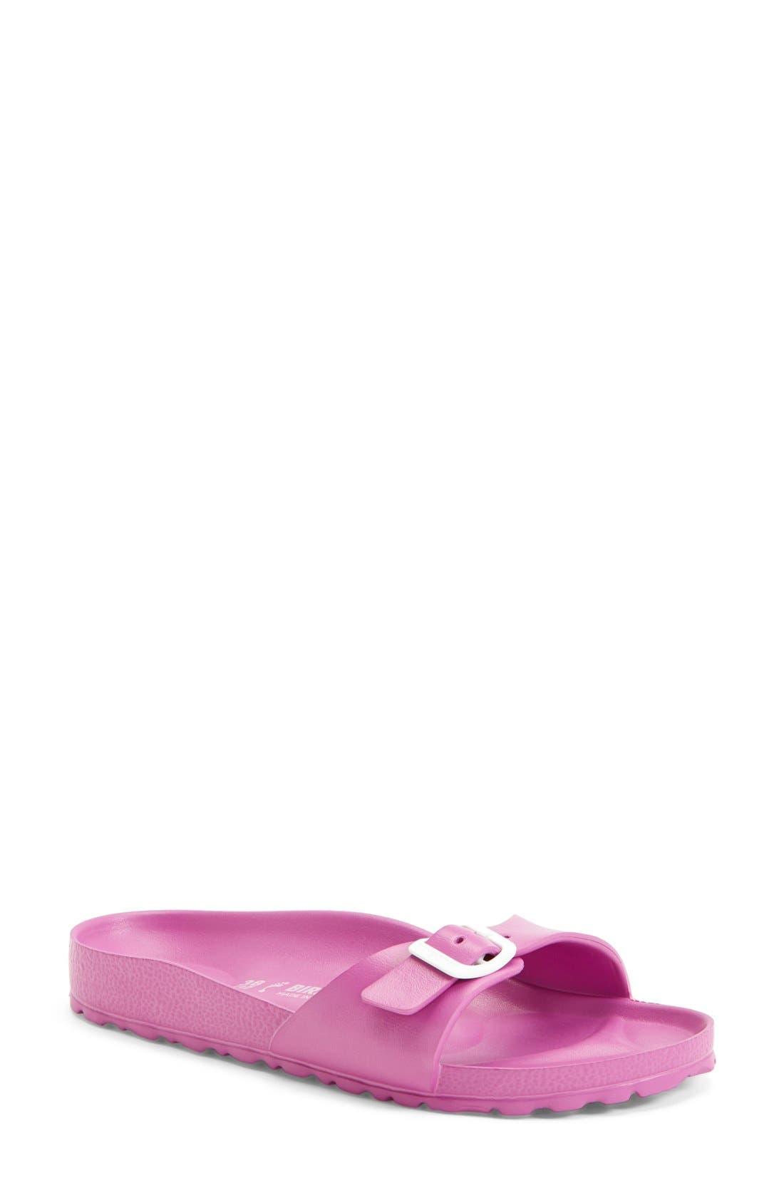 'Essentials - Madrid' Slide Sandal,                             Main thumbnail 1, color,                             Pink