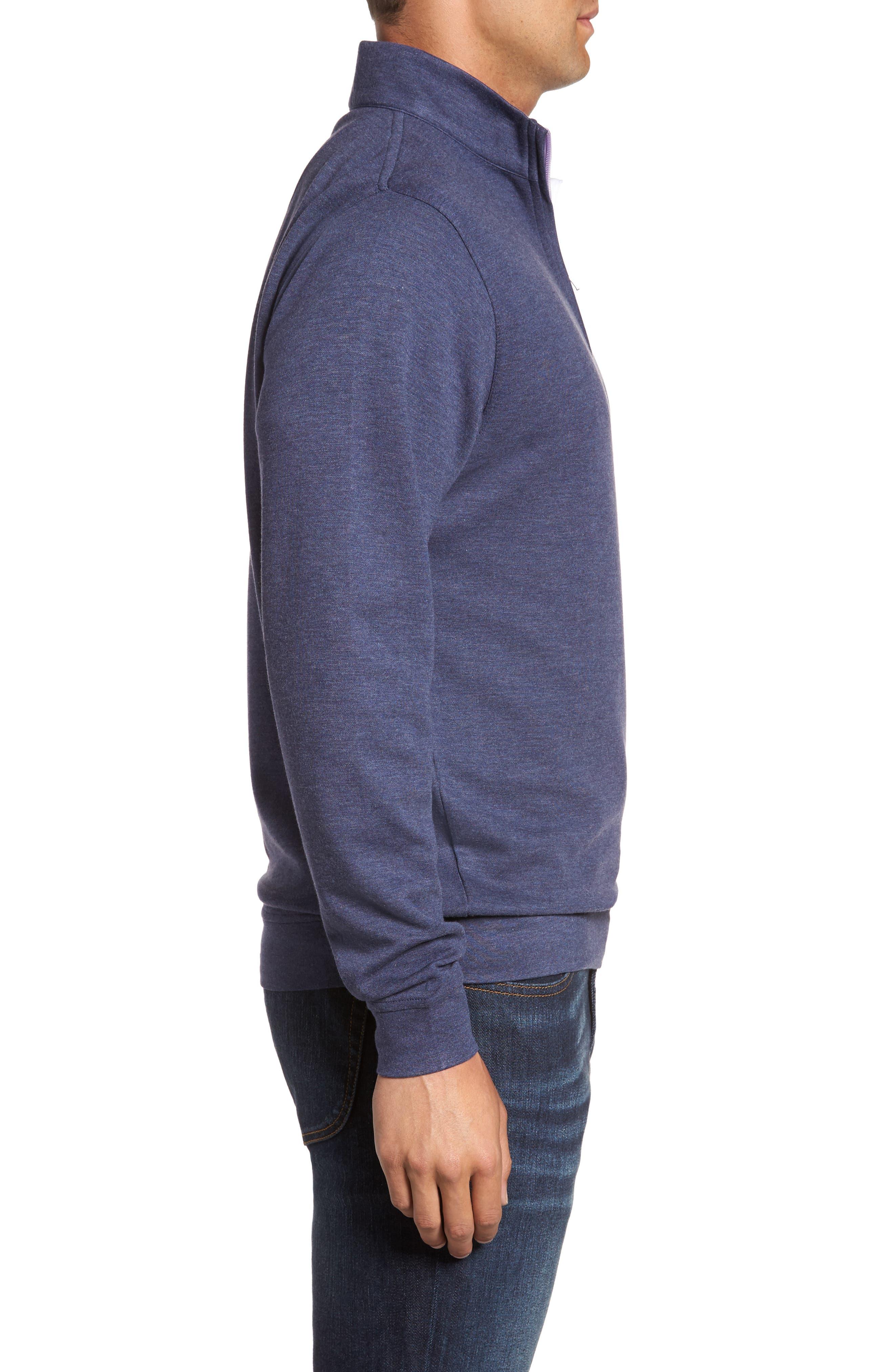 Alternate Image 3  - Peter Millar Crown Comfort Jersey Quarter Zip Pullover