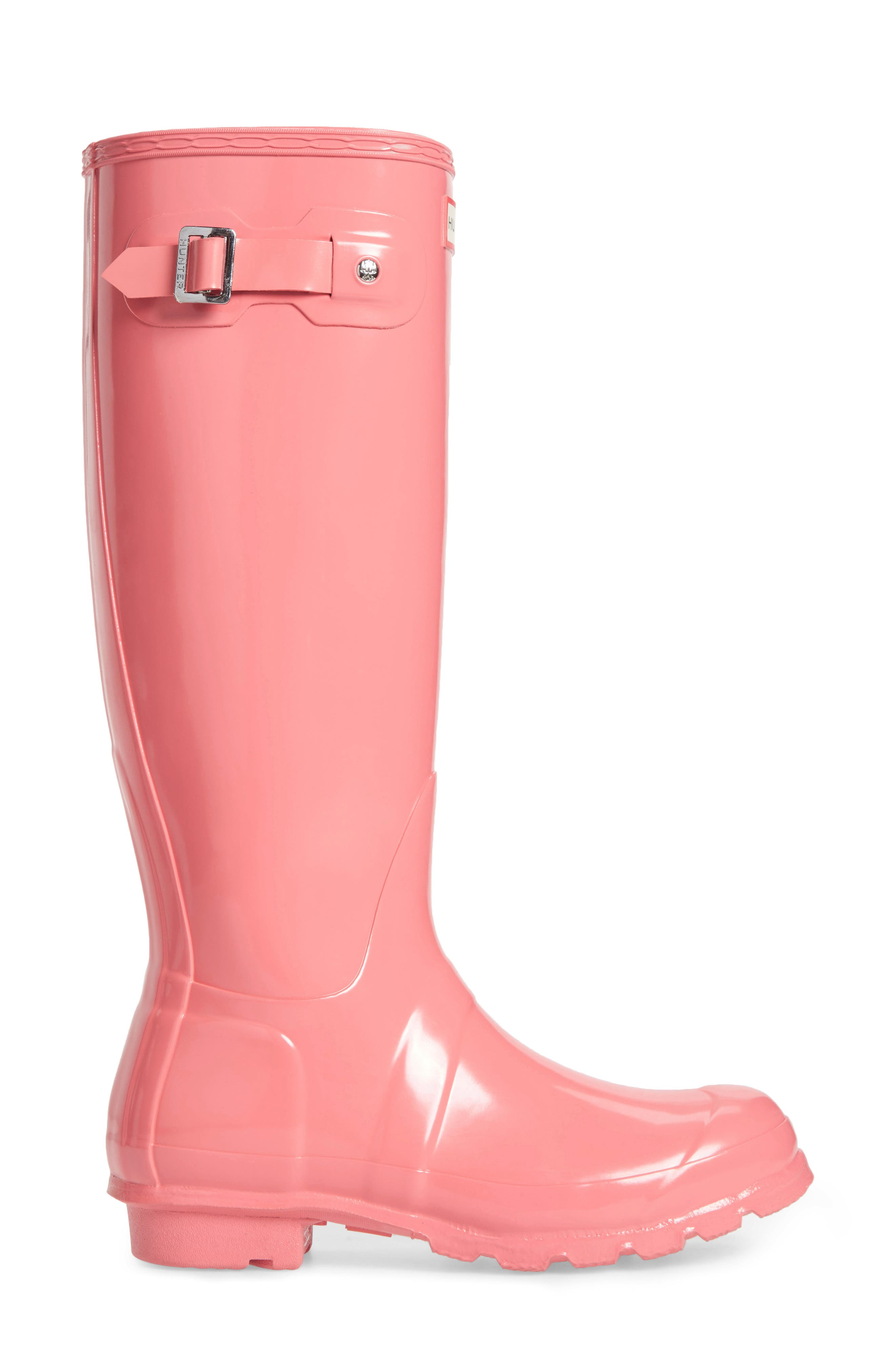 Alternate Image 3  - Hunter Original High Gloss Boot (Women)