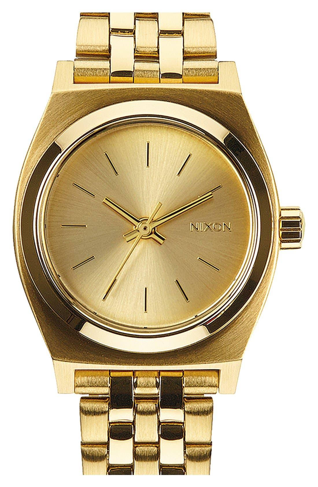 Nixon 'The Small Time Teller' Bracelet Watch, 26mm