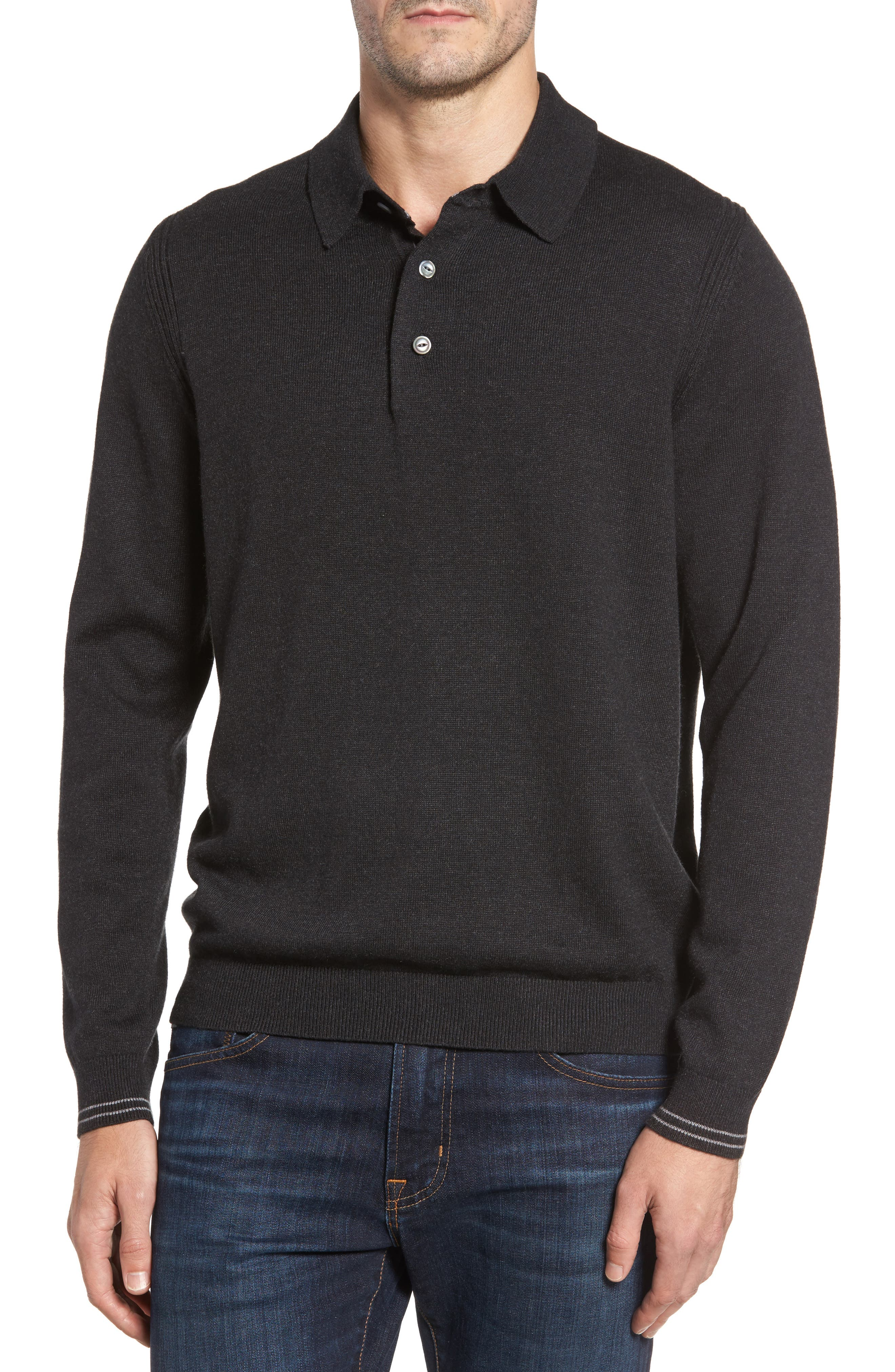 Tommy Bahama Amani Long Sleeve Polo