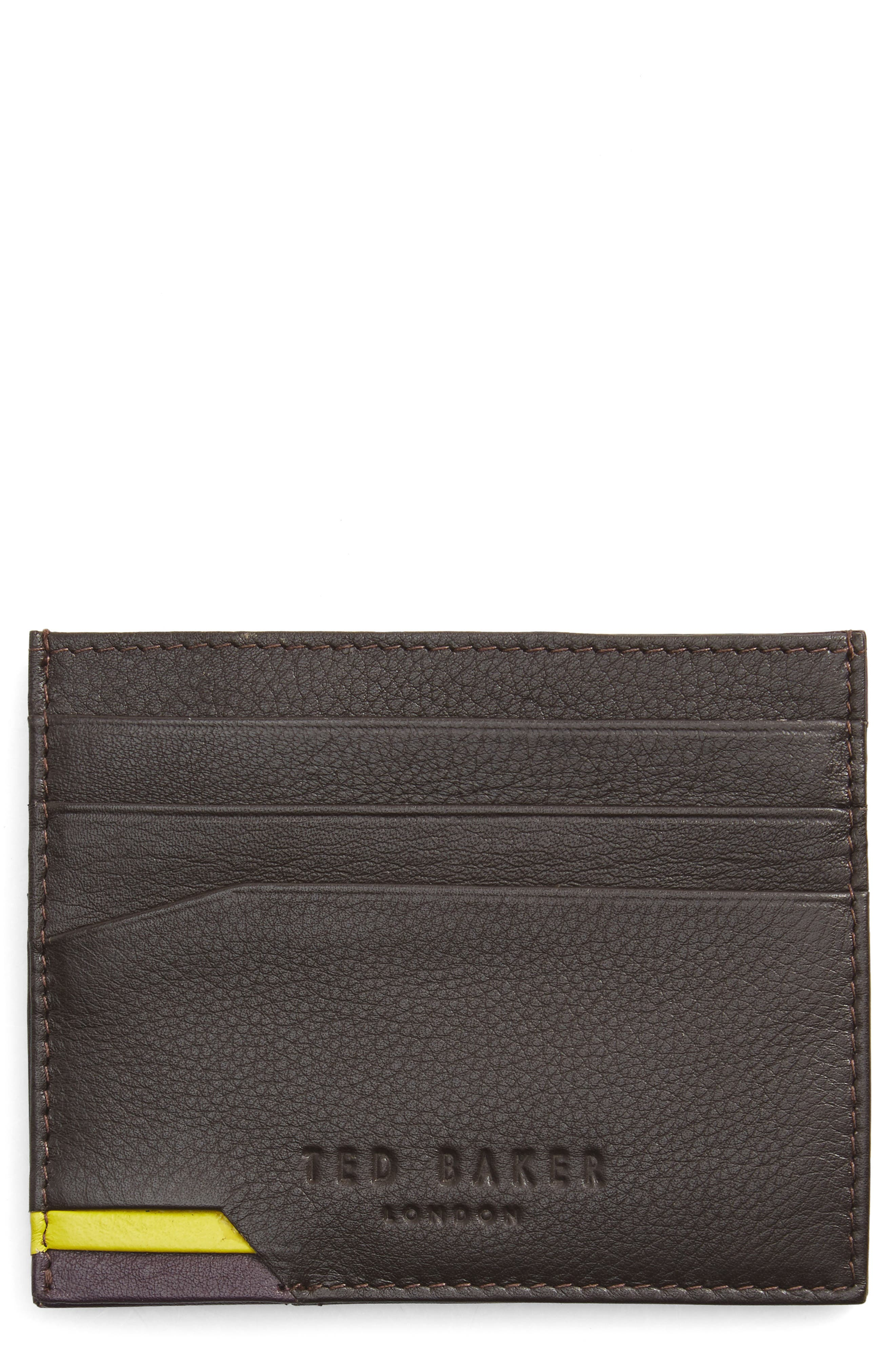 TED BAKER LONDON Corcard Card Case