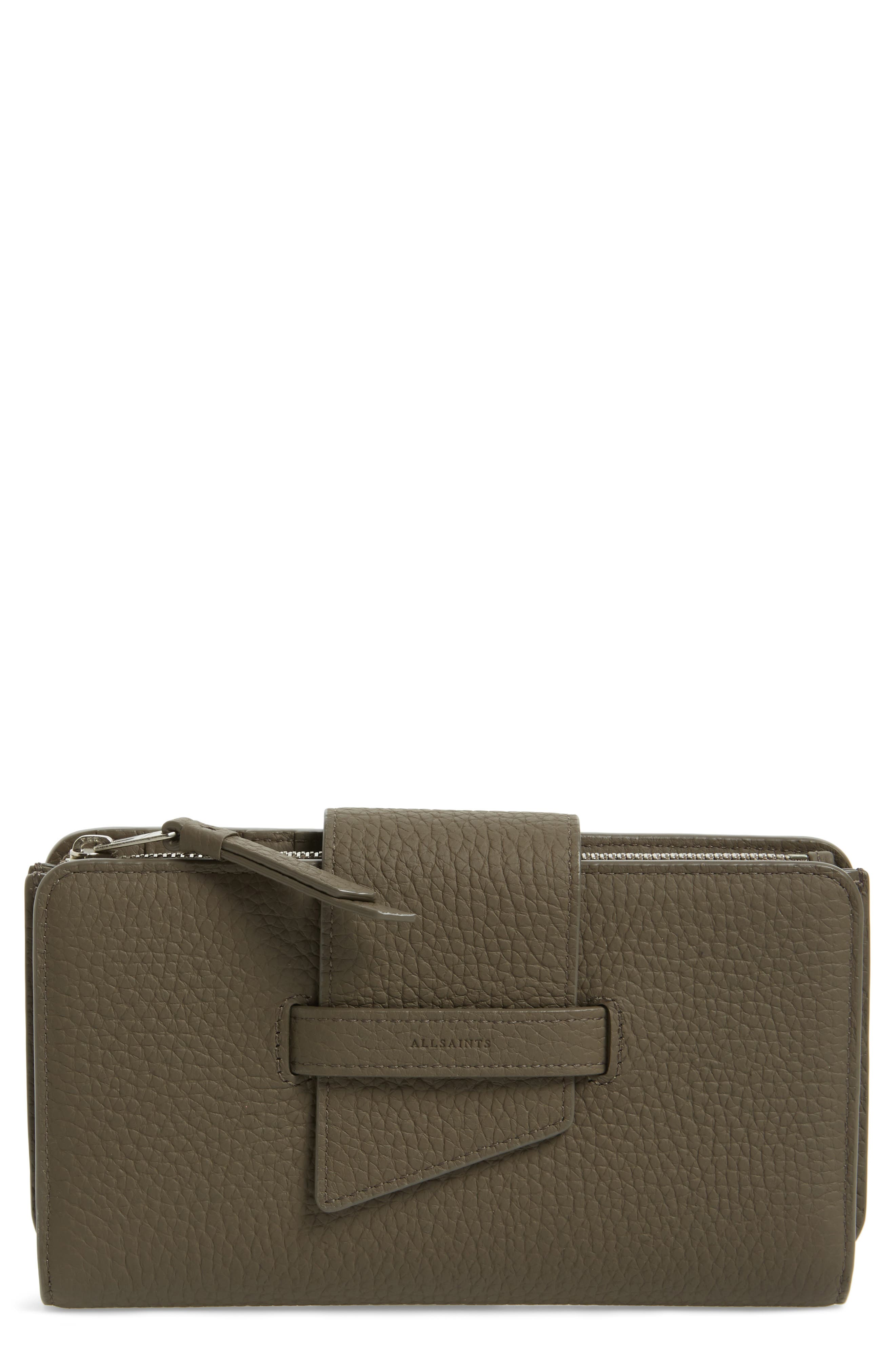 Alternate Image 1 Selected - ALLSAINTS Ray Leather Wallet