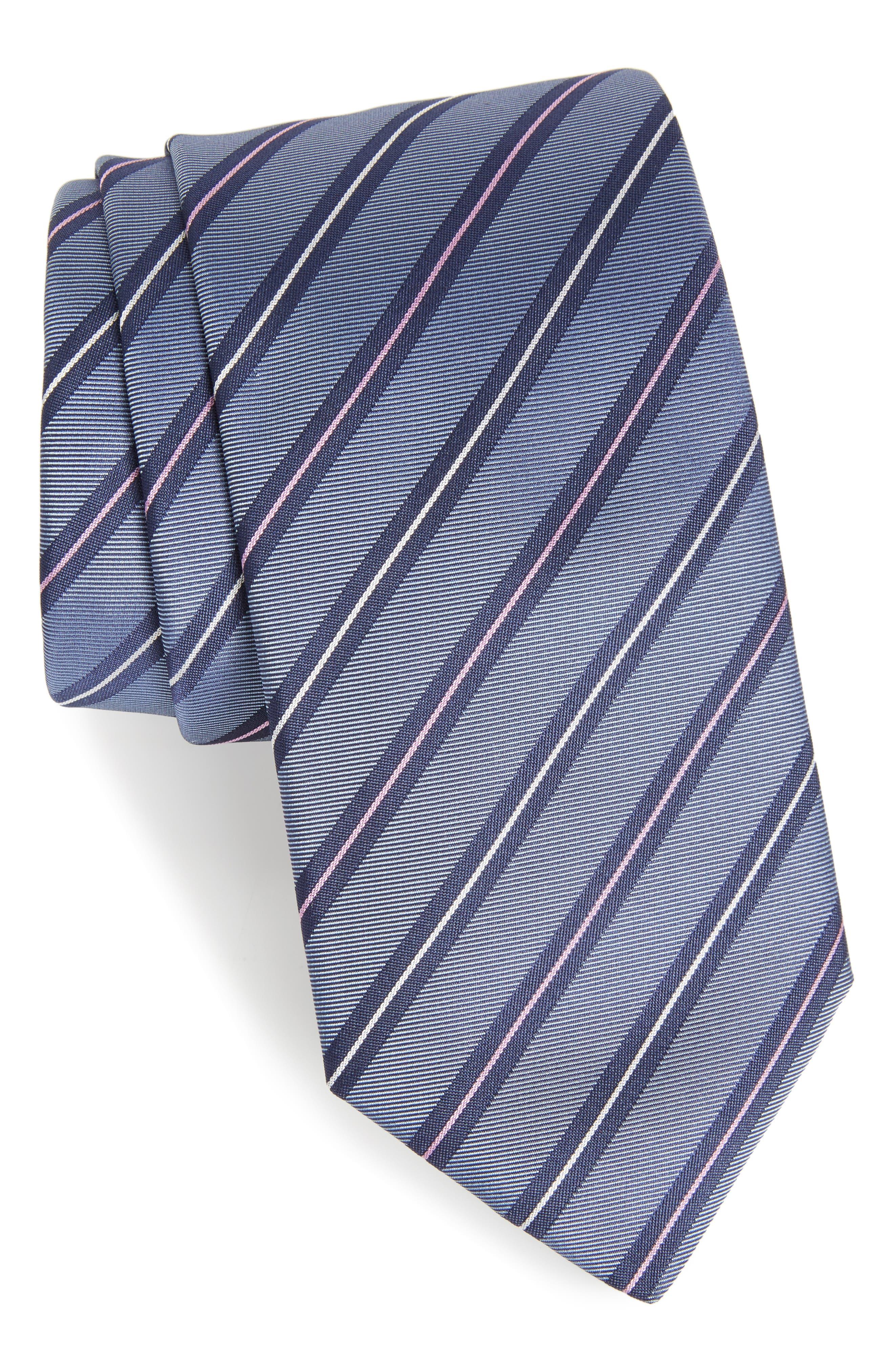 HUGO BOSS Stripe Silk Tie