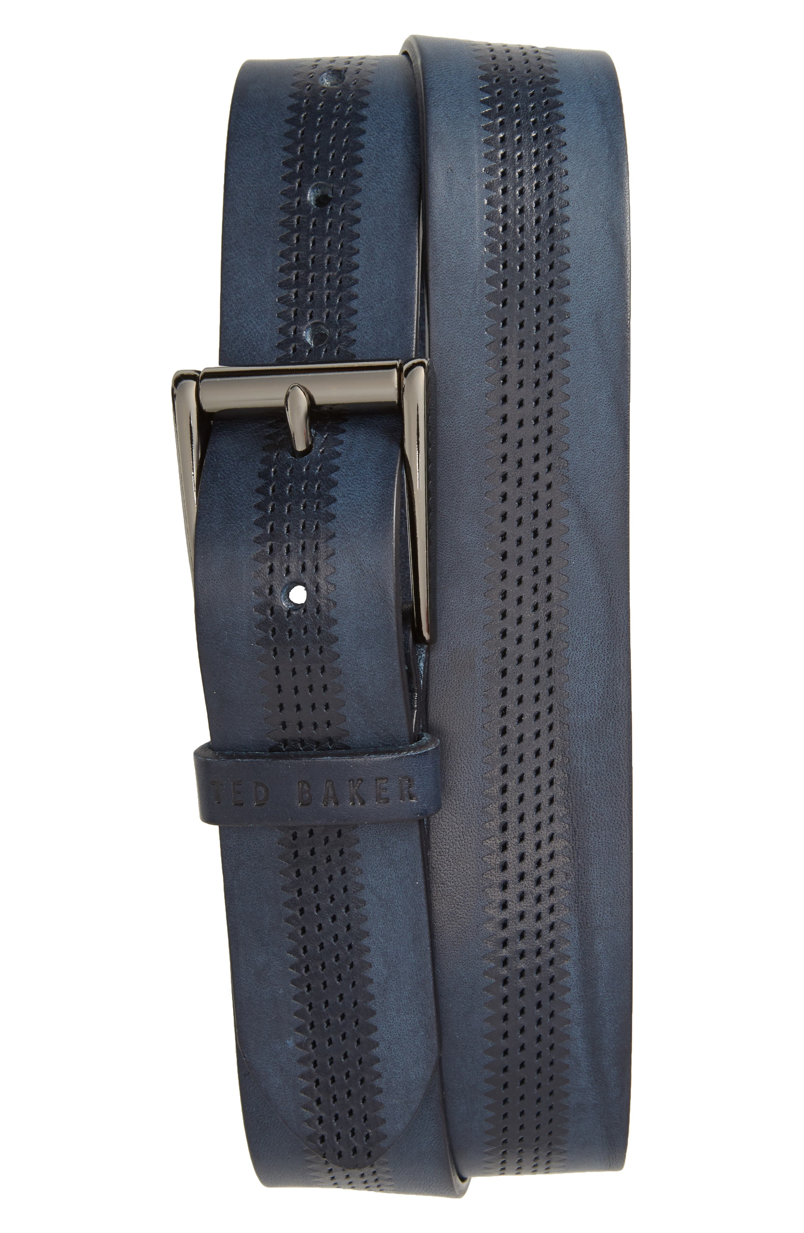 Main Image - Ted Baker London Brambel Leather Belt