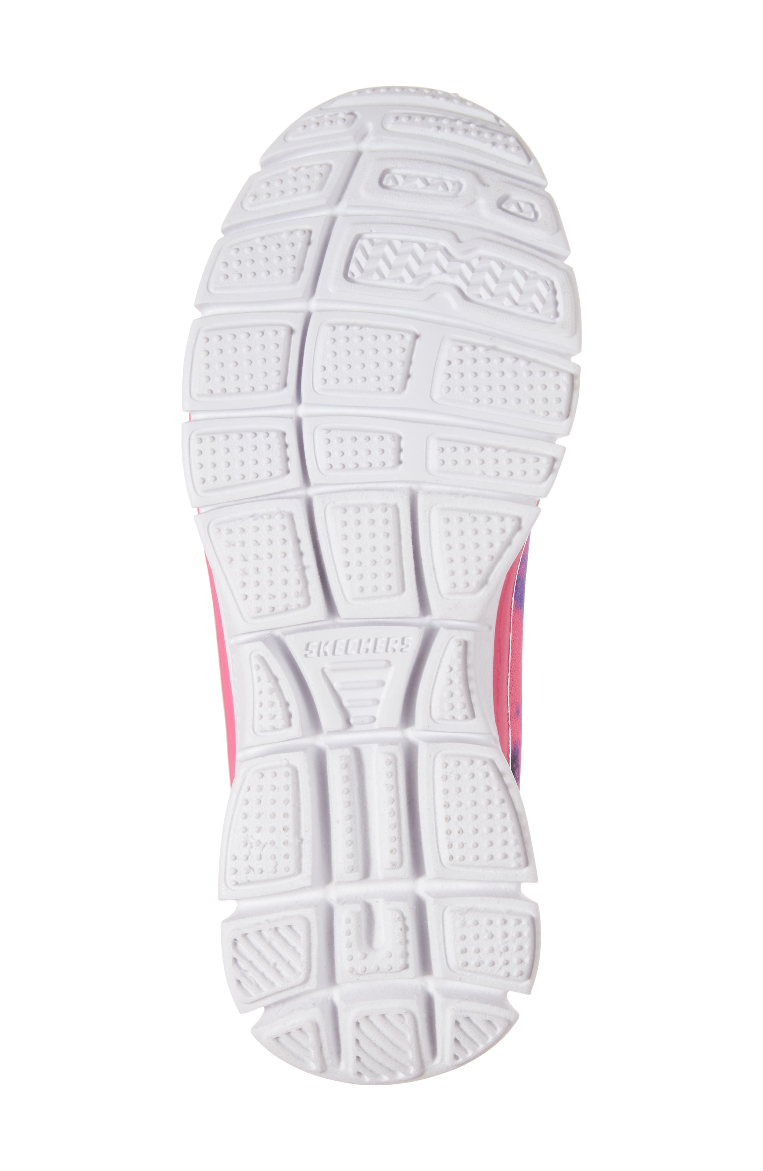 Skech Appeal Groove Thang Sneaker,                             Alternate thumbnail 6, color,                             Neon Pink/ Multi