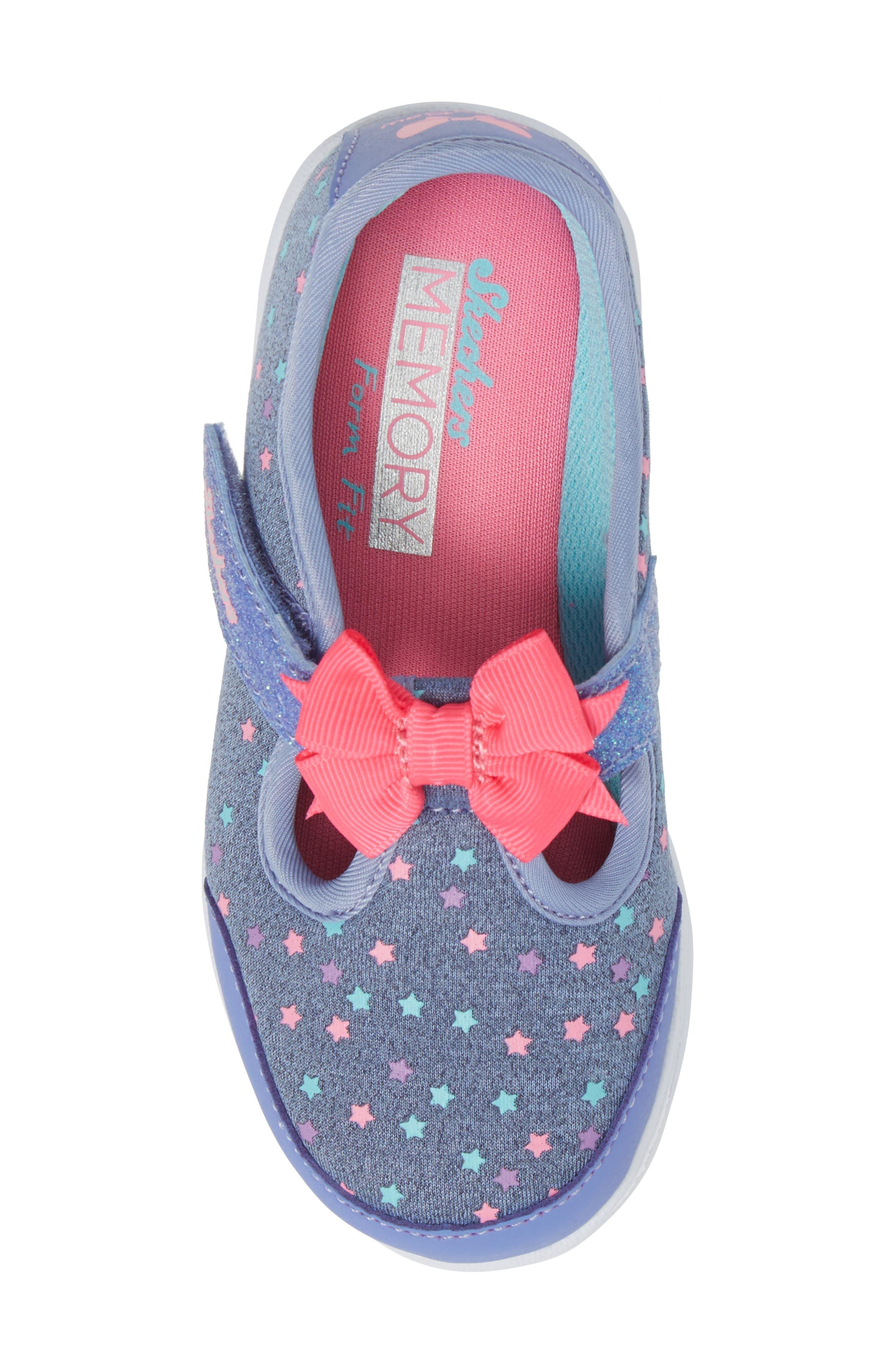 Alternate Image 5  - SKECHERS Go Walk Slip-On Sneaker (Baby, Walker, Toddler & Little Kid)