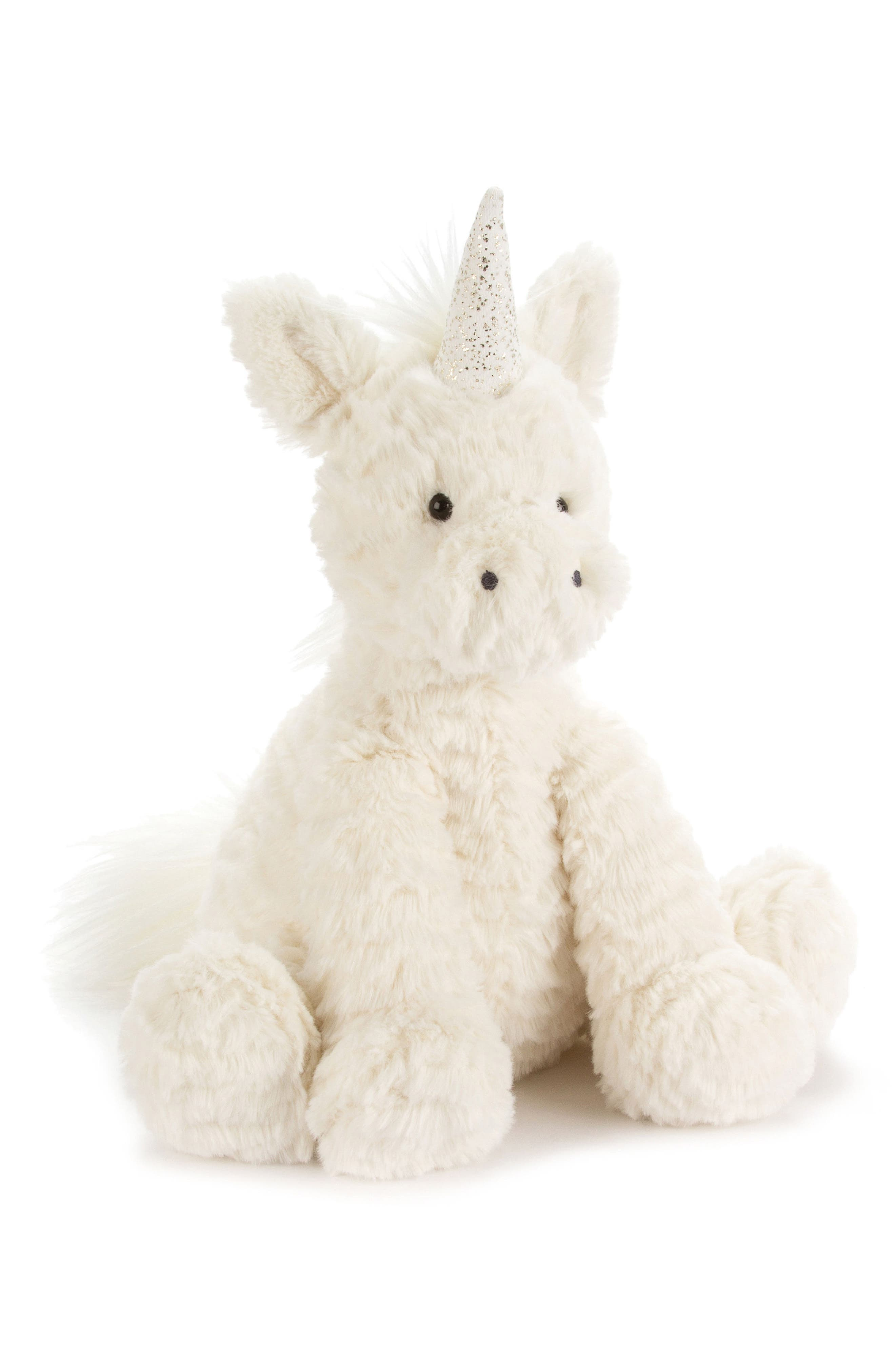 main image jellycat medium unicorn stuffed animal