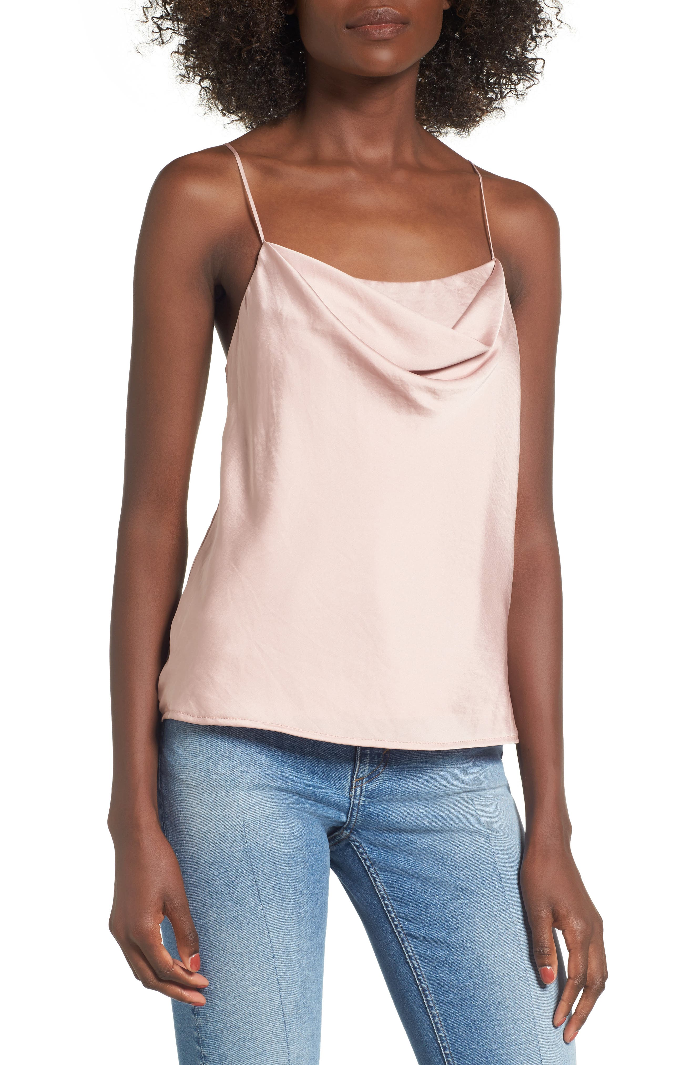 Main Image - ASTR the Label Cowl Neck Tank