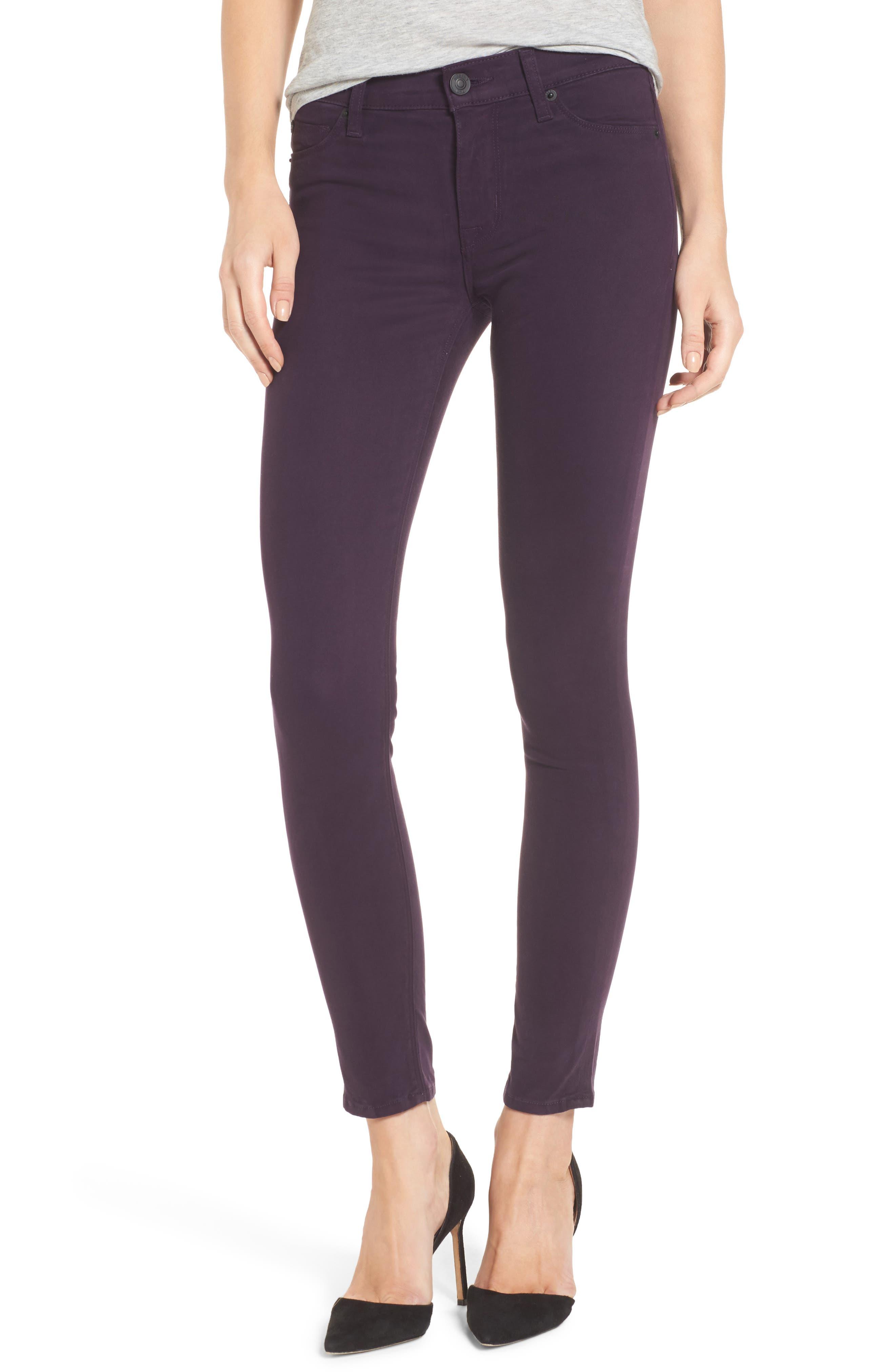 Nico Ankle Skinny Pants,                             Main thumbnail 1, color,                             Velvet Plum
