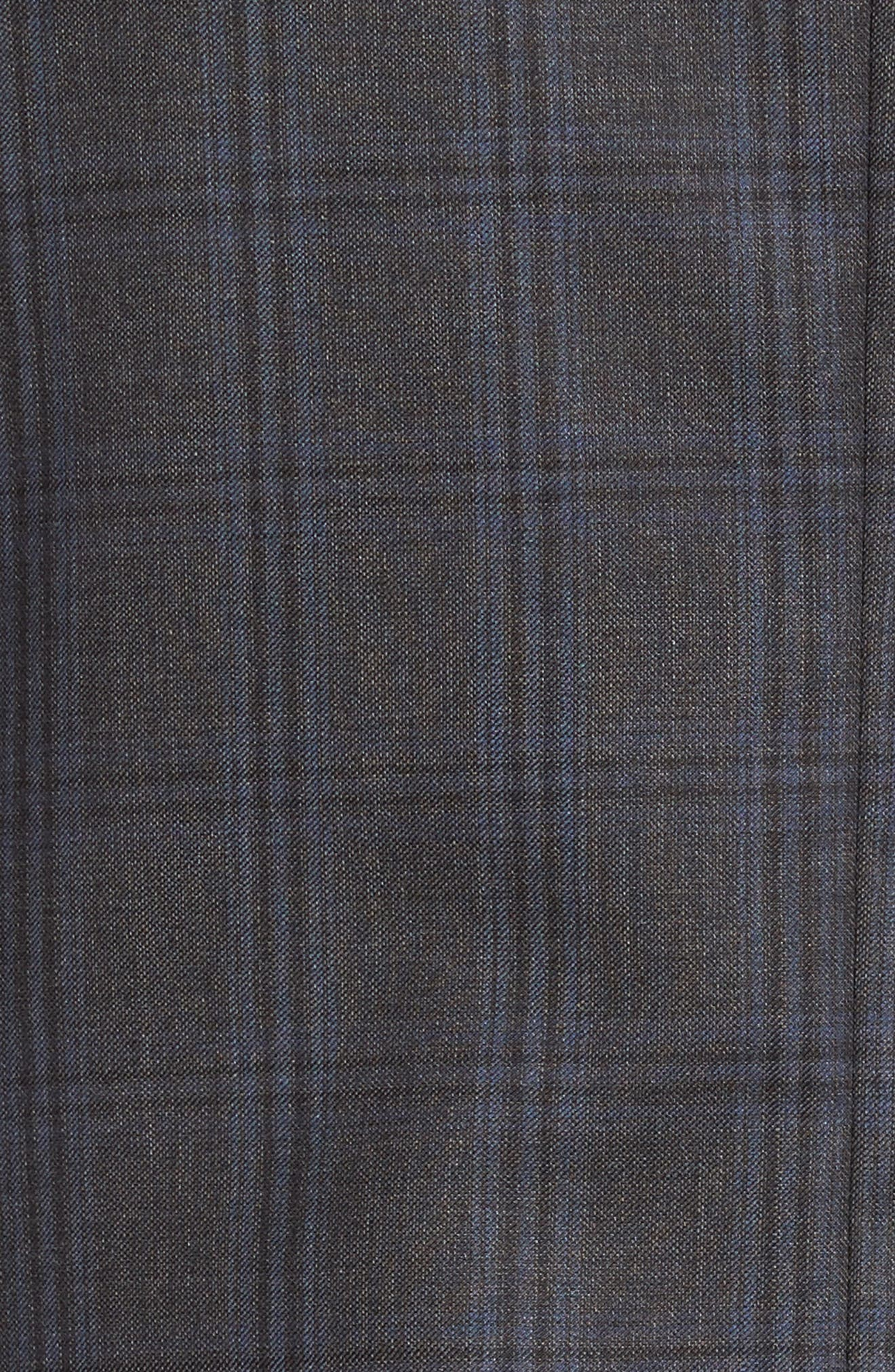 Alternate Image 7  - Peter Millar Flynn Classic Fit Plaid Wool Suit