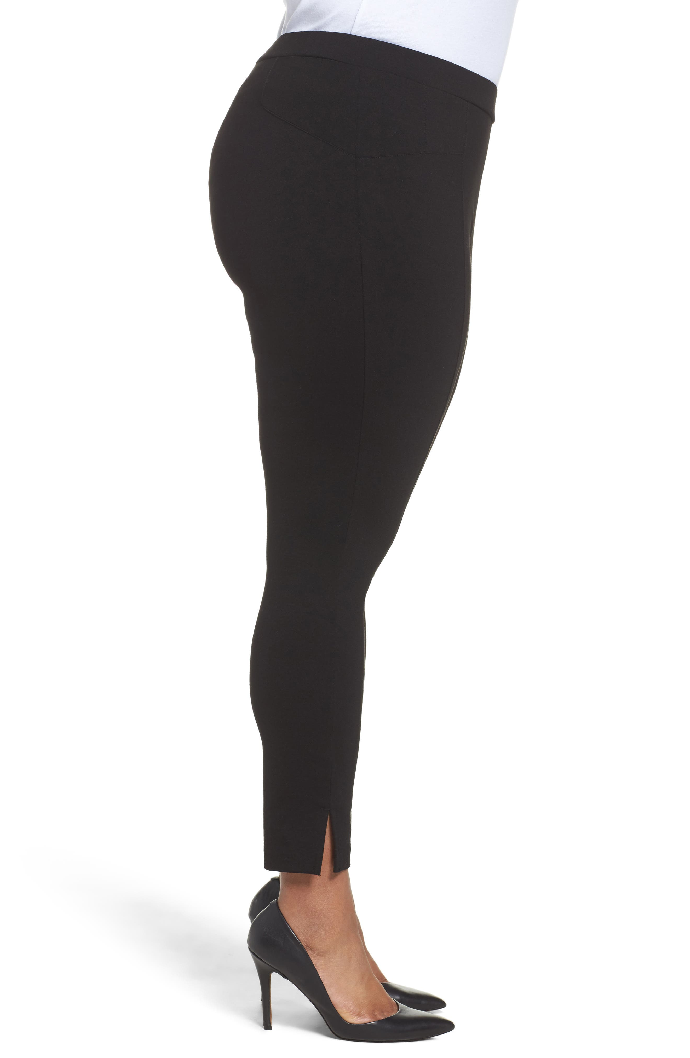Alternate Image 3  - Sejour Seamed Leggings (Plus Size)