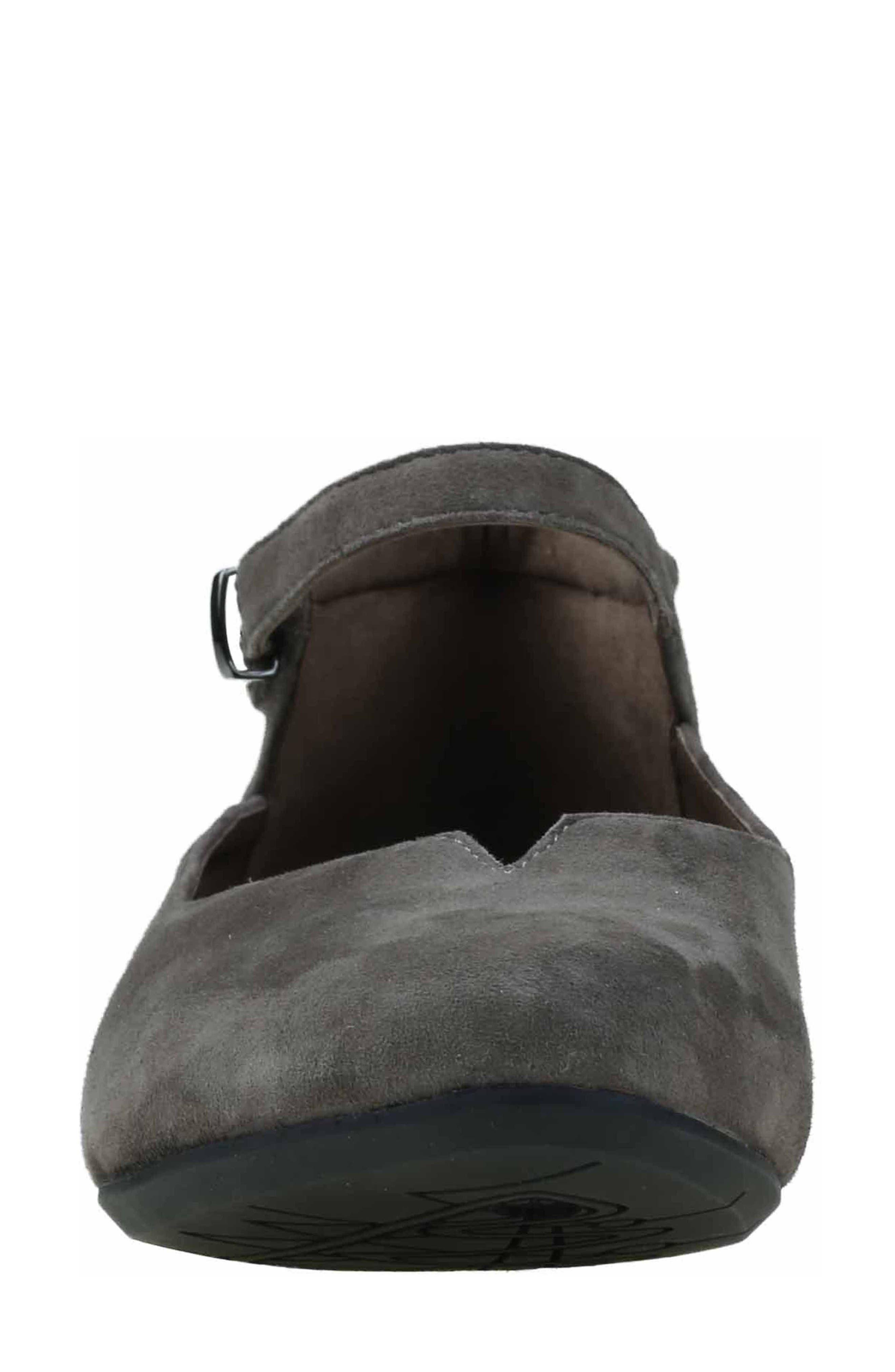 Alternate Image 4  - Earthies® Emery Ankle Strap Flat (Women)