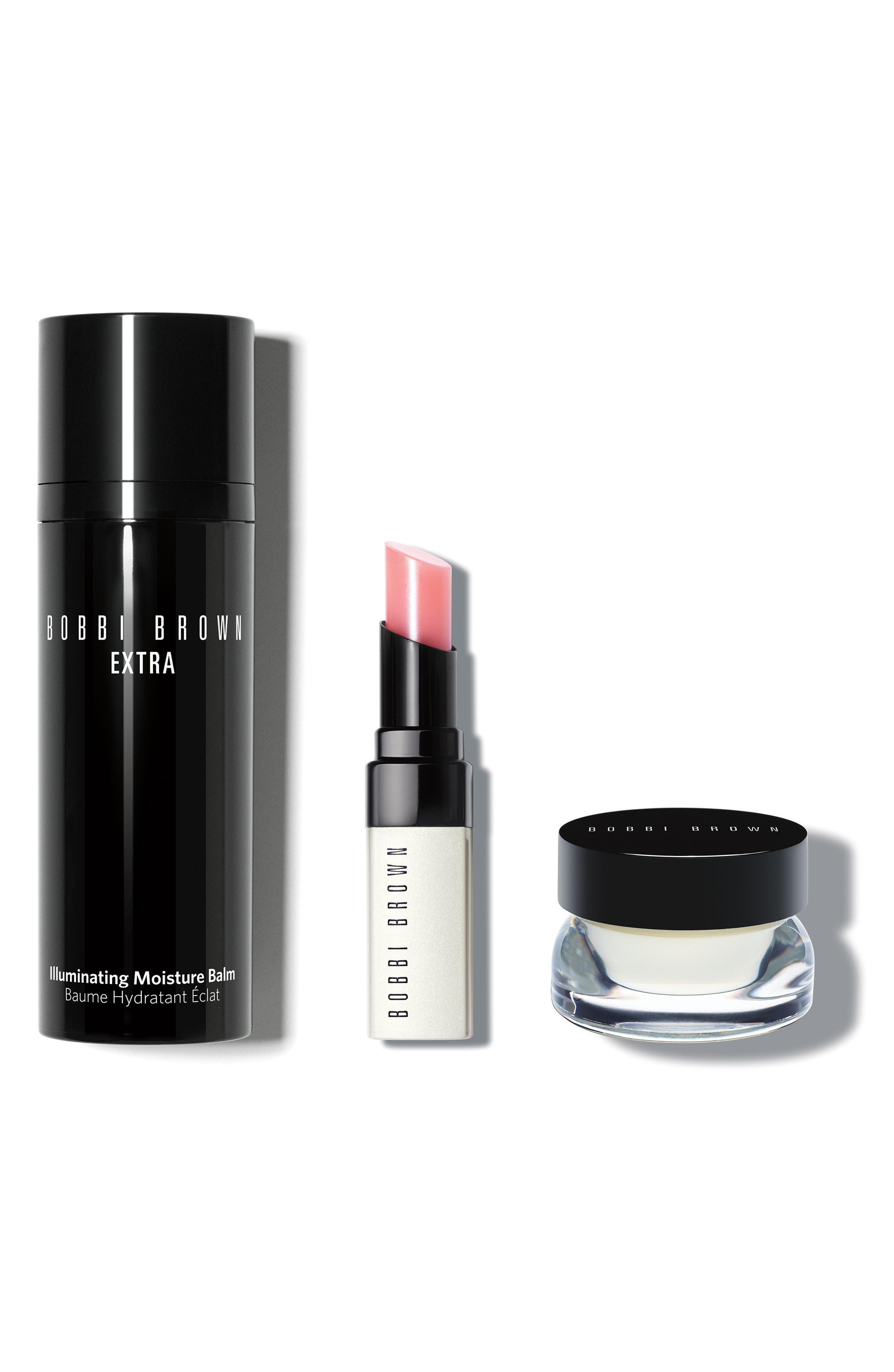 Extra Glow Skin Care Set,                             Main thumbnail 1, color,                             No Color