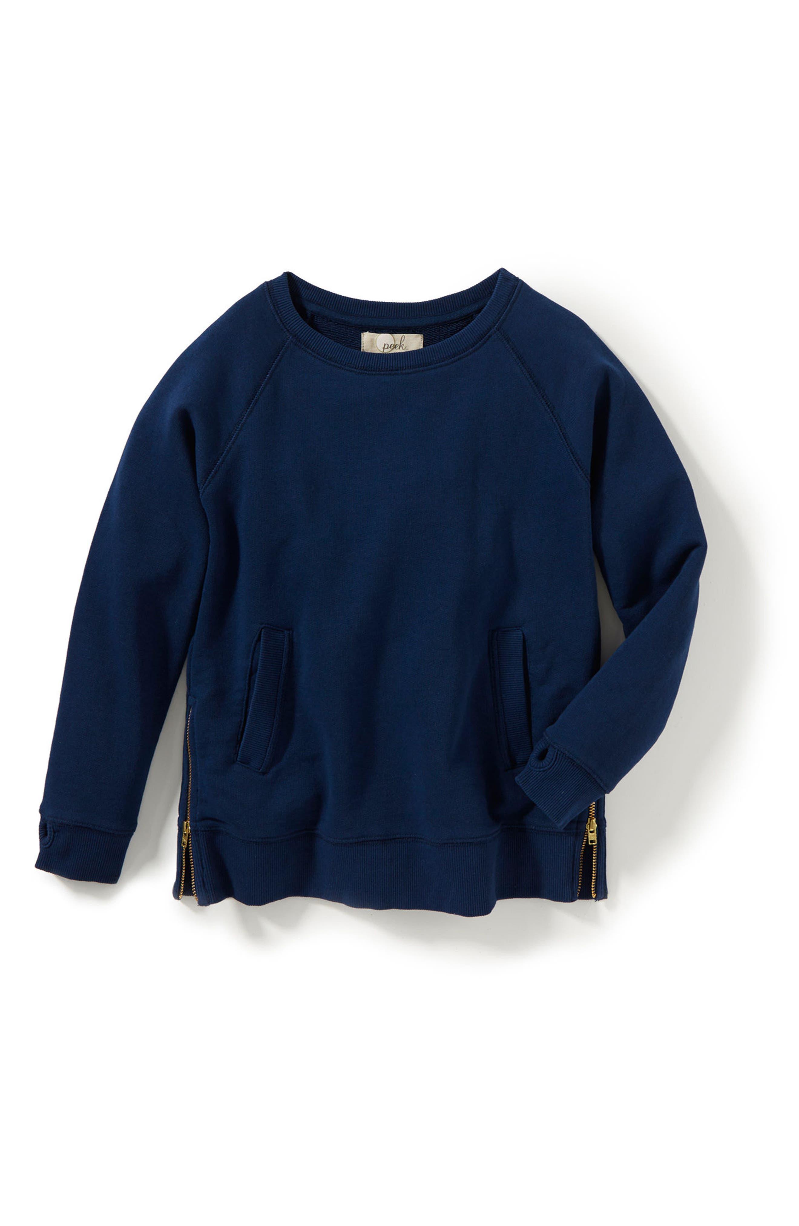 Peek Bailey Side Zip Sweatshirt