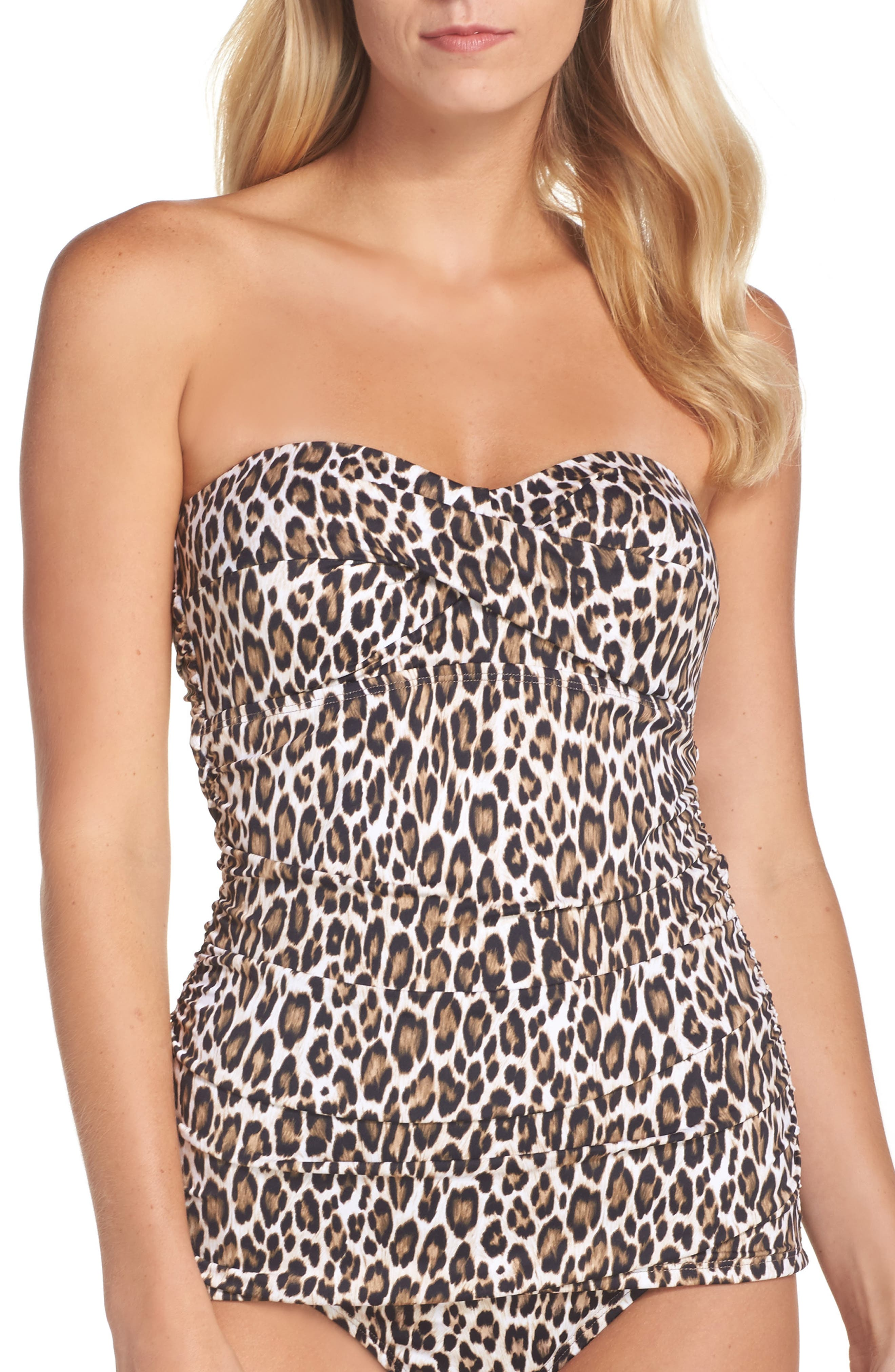 Alternate Image 1 Selected - Tommy Bahama Cat's Meow Twist Tankini
