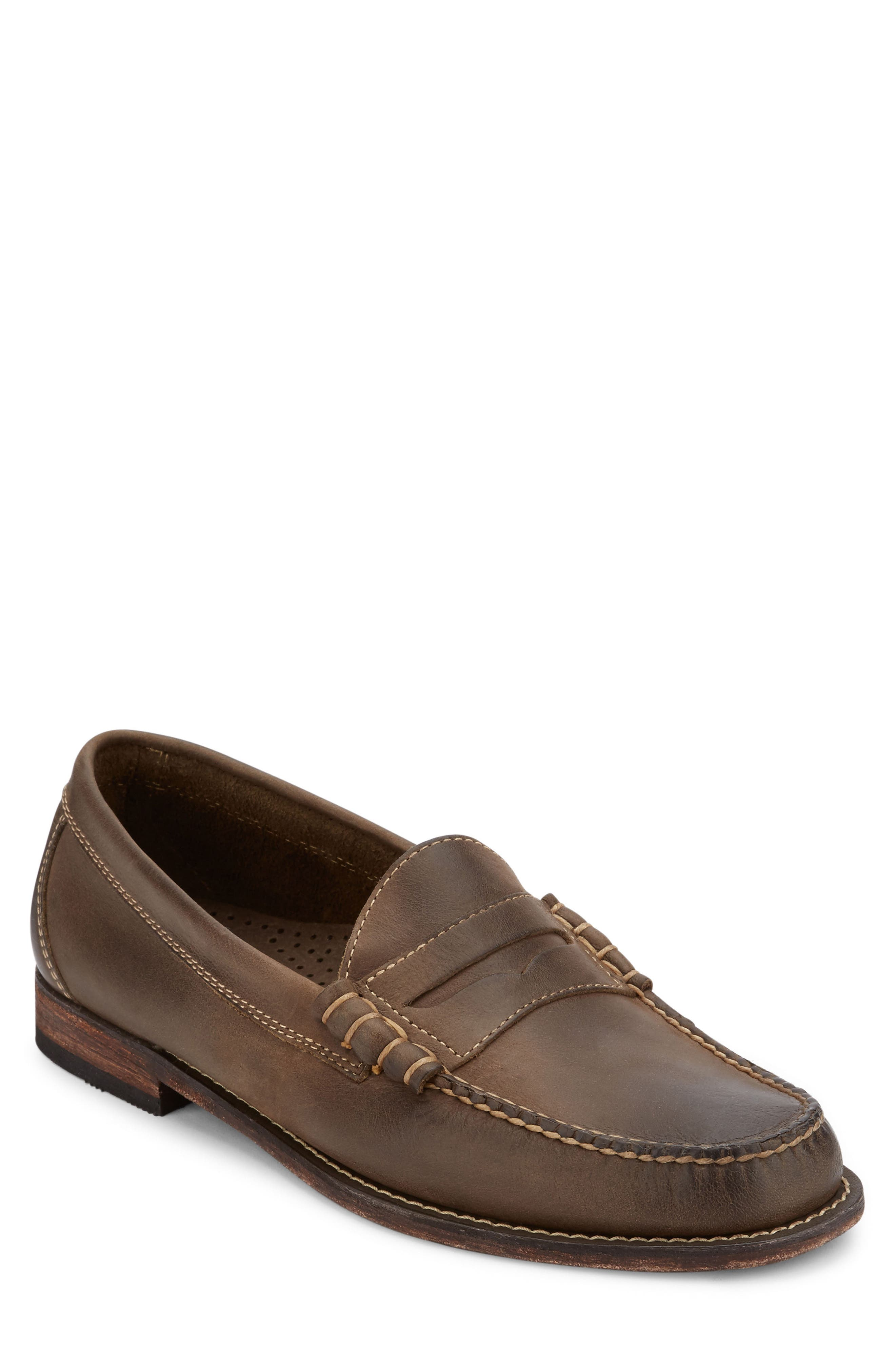 Hayden Penny Loafer,                             Main thumbnail 1, color,                             Brown