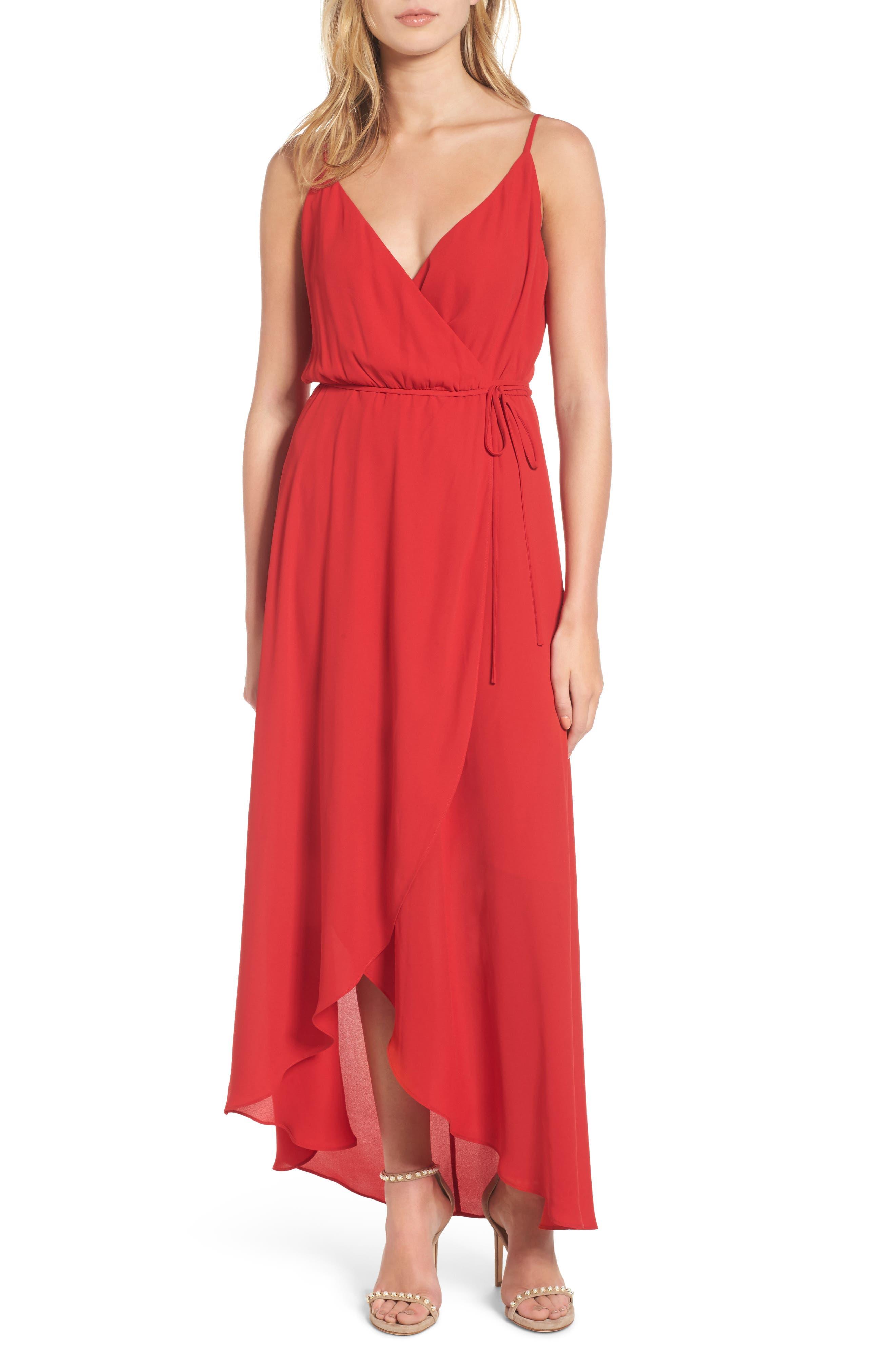 Soprano Wrap Maxi Dress