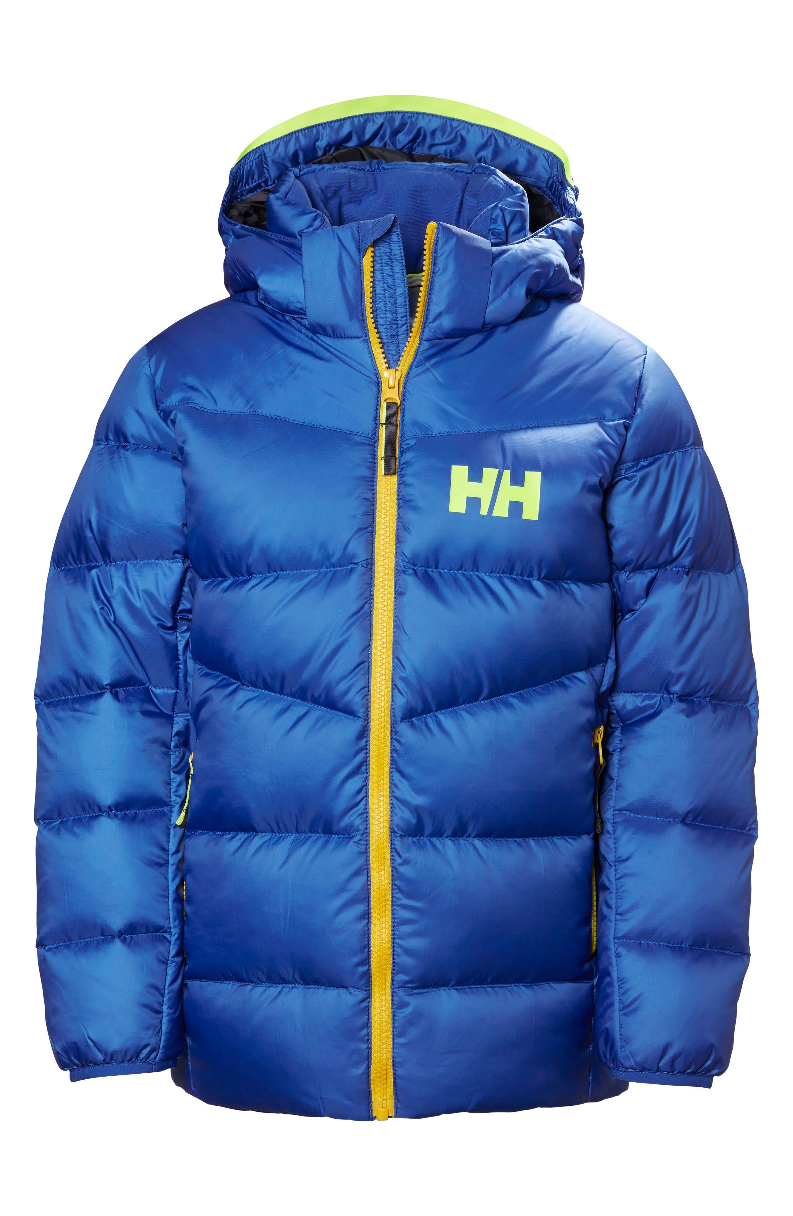 Main Image - Helly Hansen Fjord Water Resistant Puffer Jacket (Big Boys)