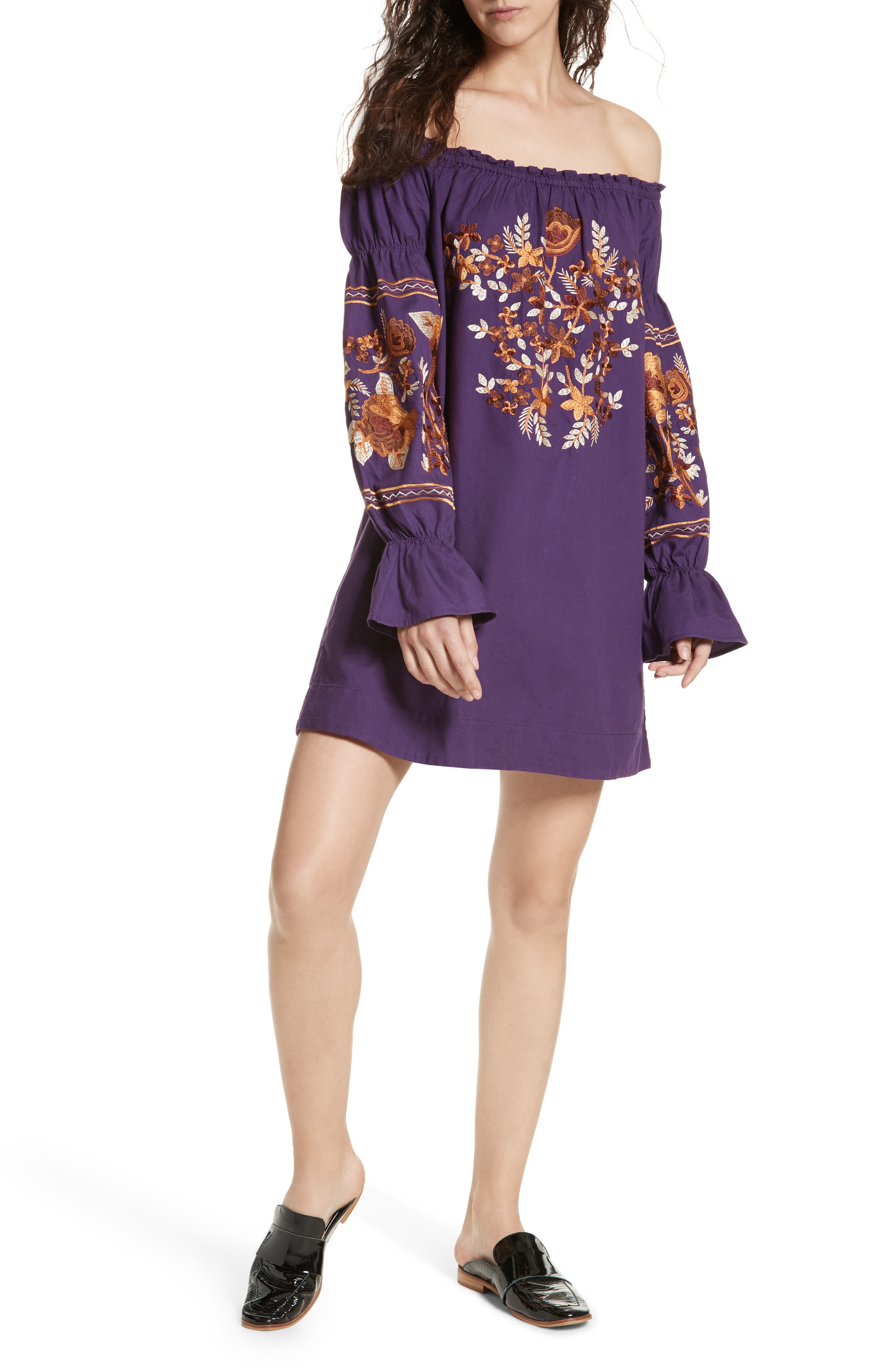 Alternate Image 1 Selected - Free People Fleur Du Jour Shift Dress