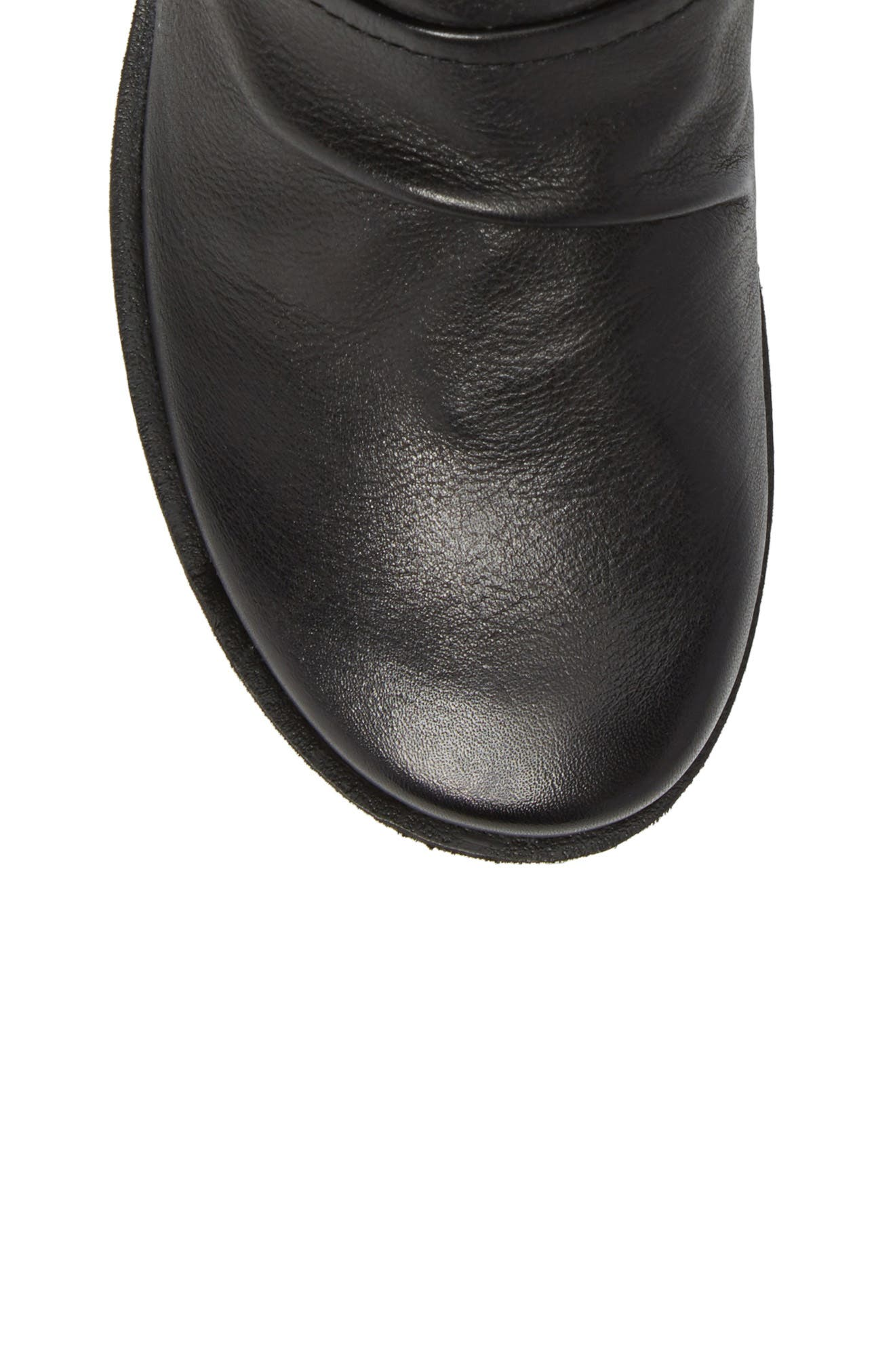 Pilgrim Boot,                             Alternate thumbnail 5, color,                             Black Leather