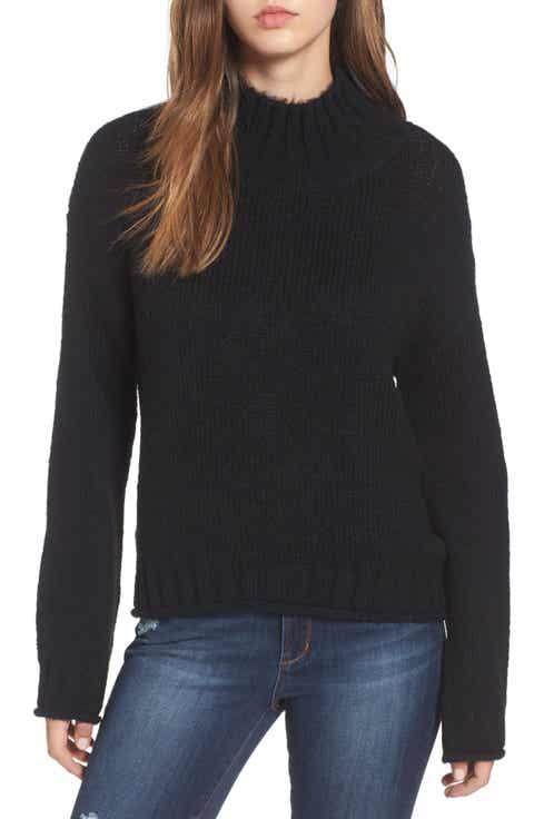 Women's Black Sweaters   Nordstrom
