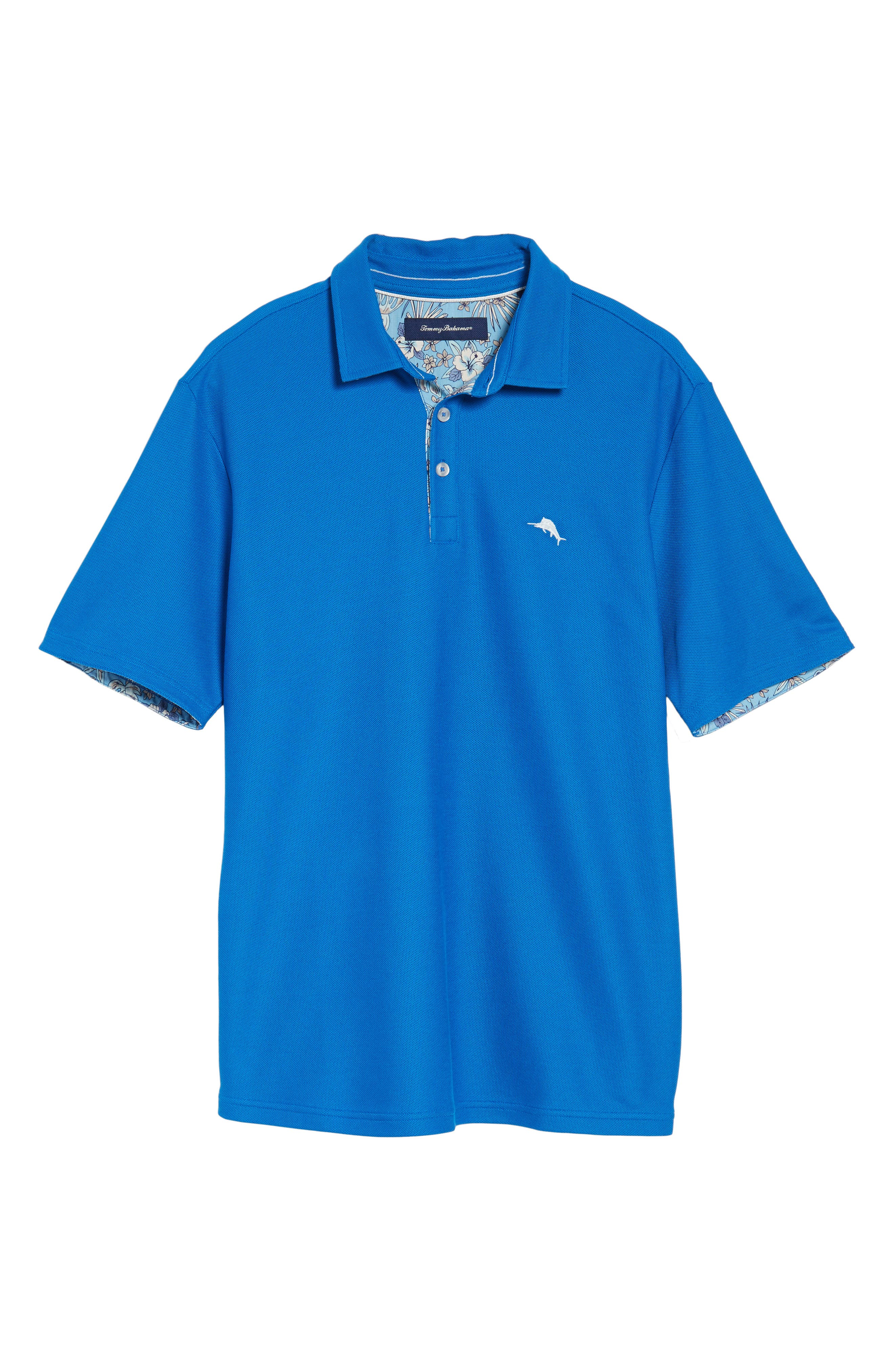 Alternate Image 6  - Tommy Bahama Limited Edition Five OClock Piqué Polo